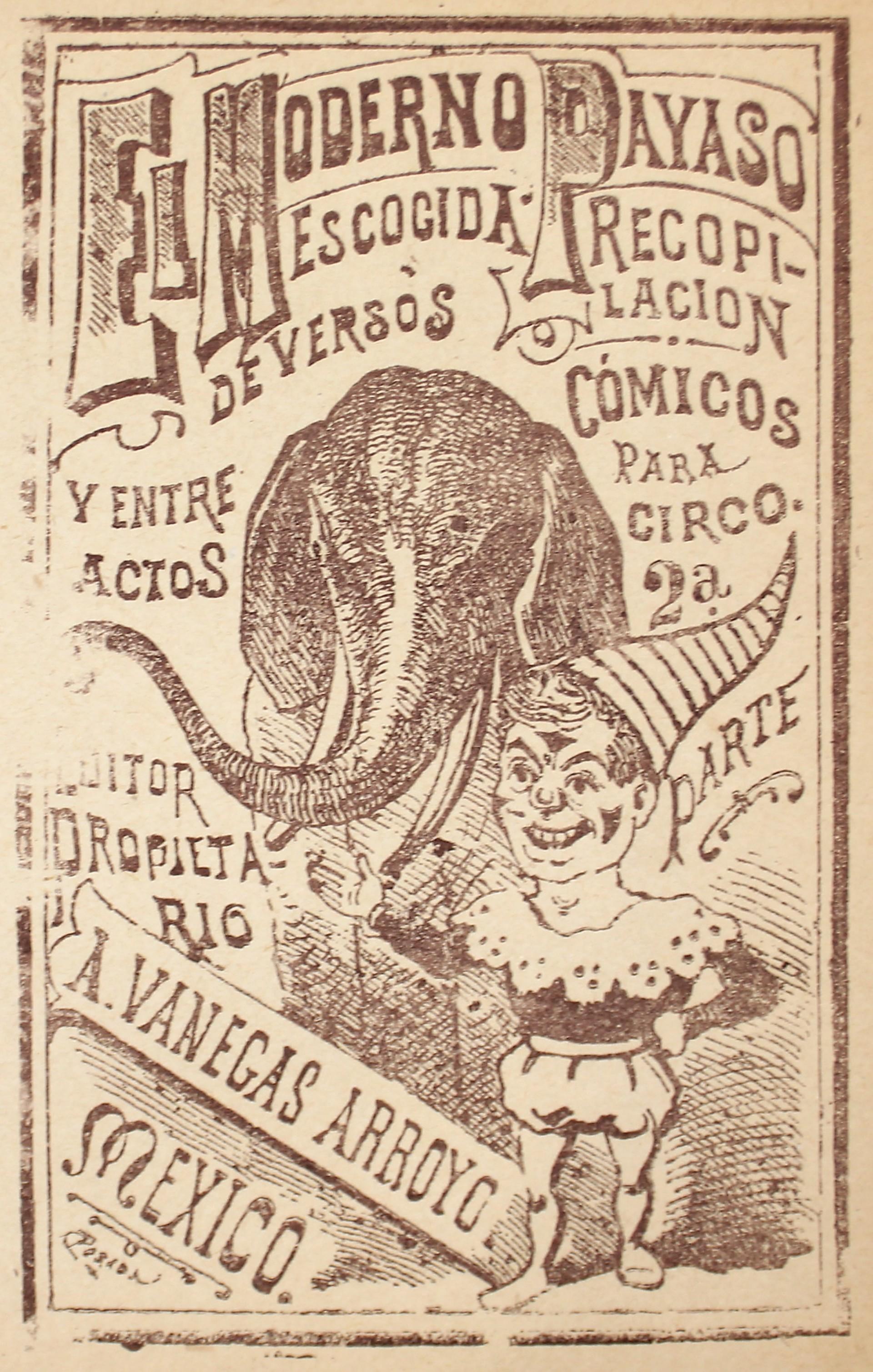 El Moderno Payaso by José Guadalupe Posada (1852 - 1913)