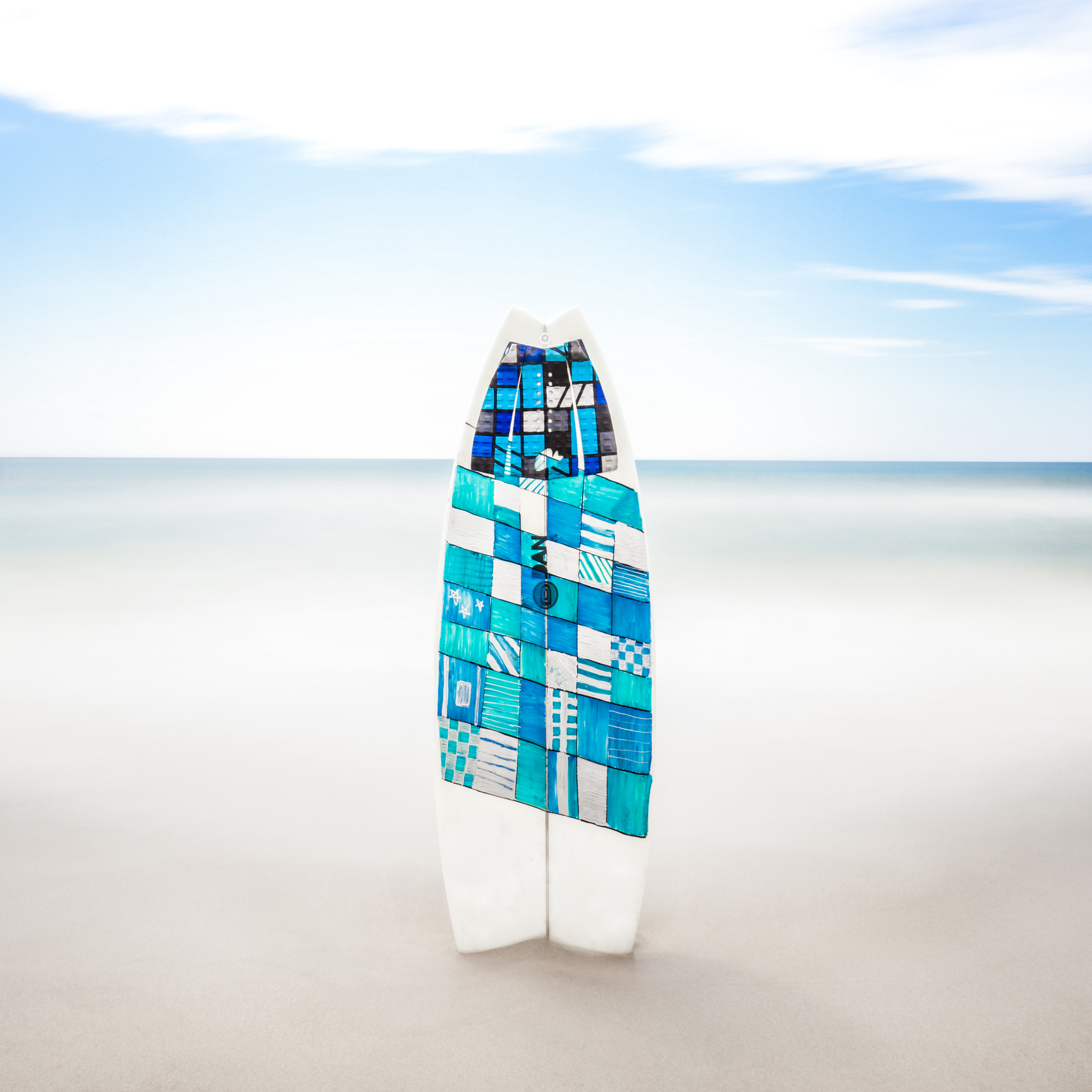 DT Surfboard at Napeague Lane by Keith Ramsdell