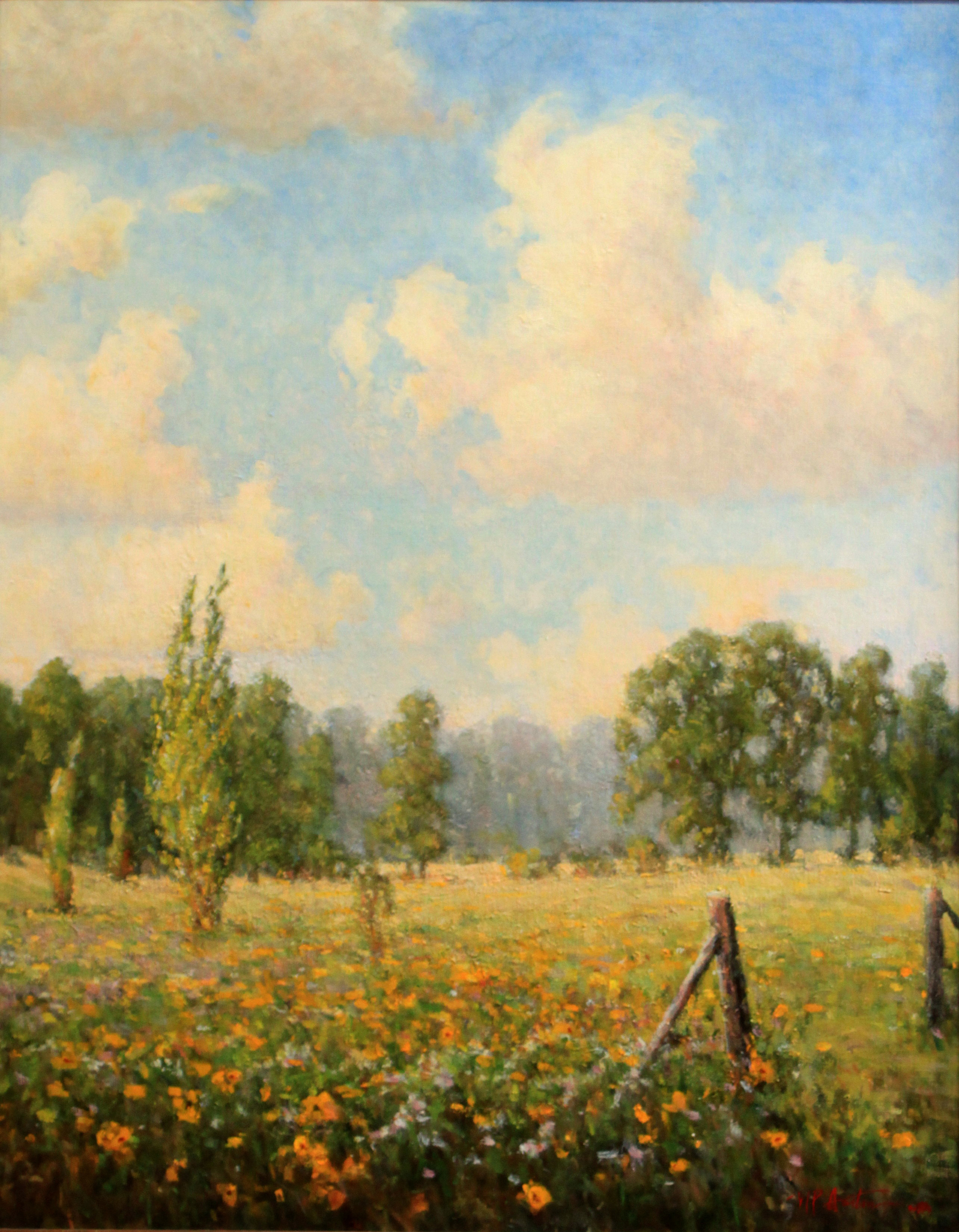 Summers on the Meadow by Perry Austin