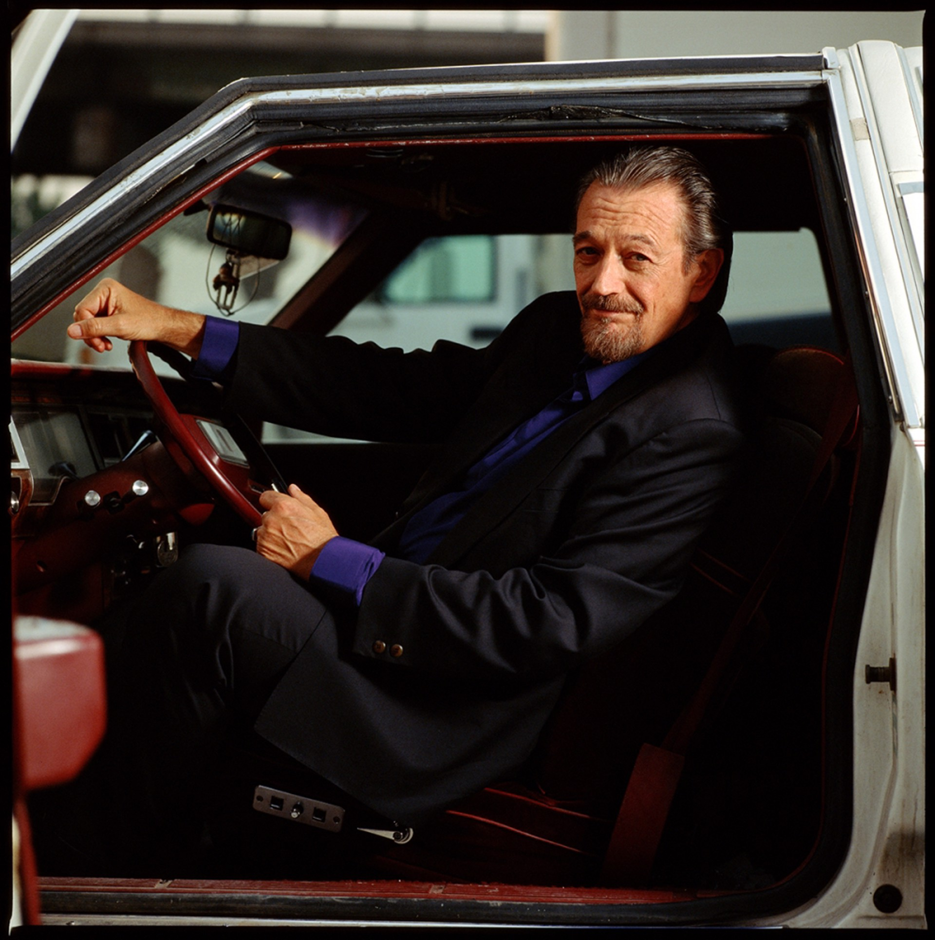 97055 Charlie Musselwhite In the Car Color by Timothy White