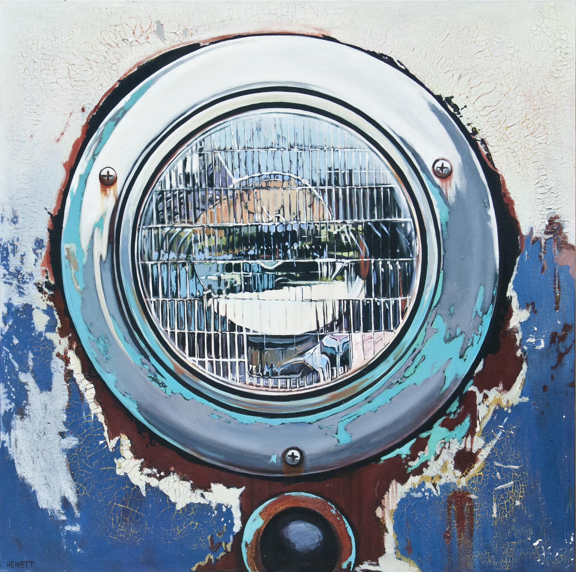 Headlight Blue by Scott Hewett