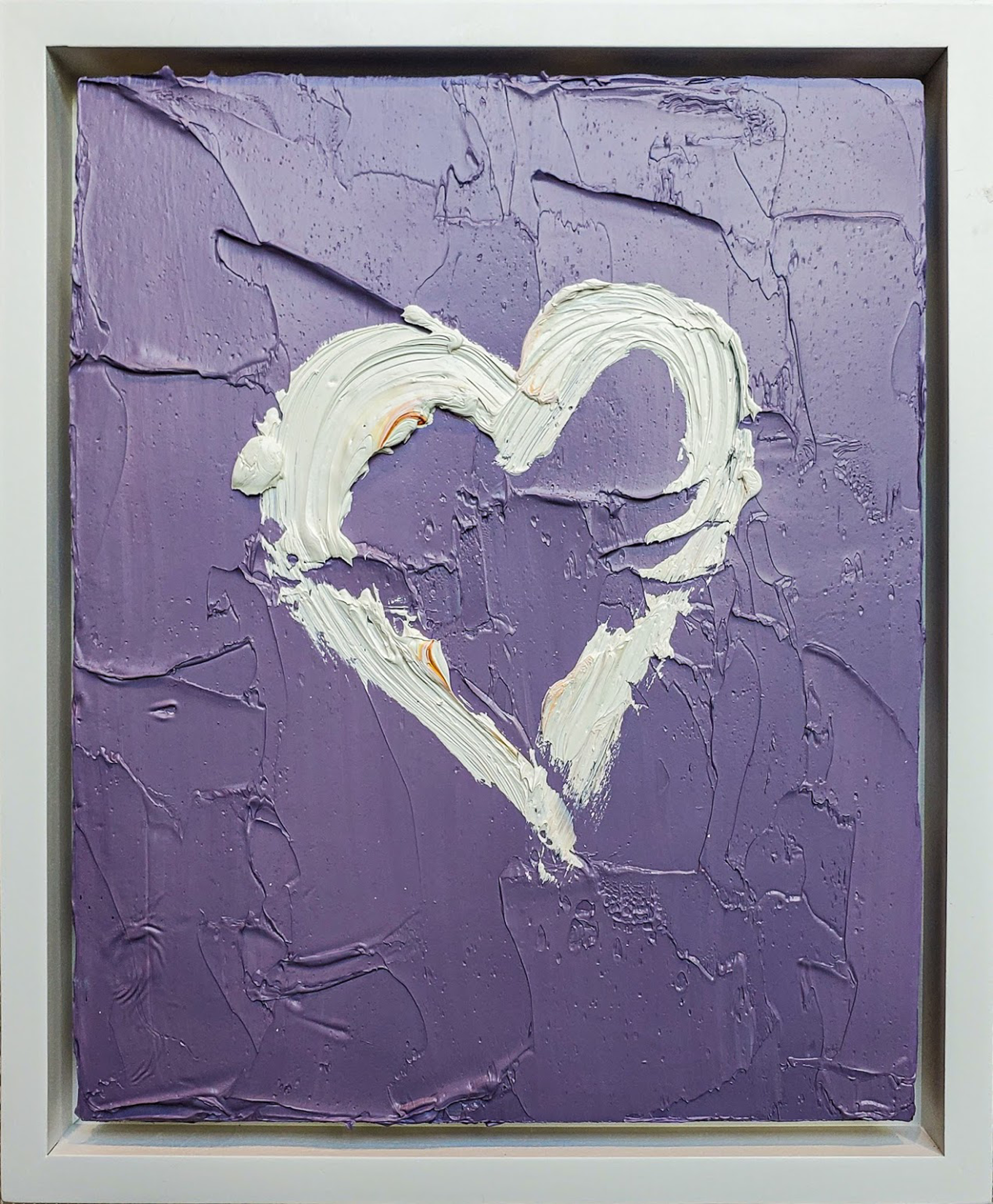 My Heart in Periwinkle Purple by Cindy Shaoul