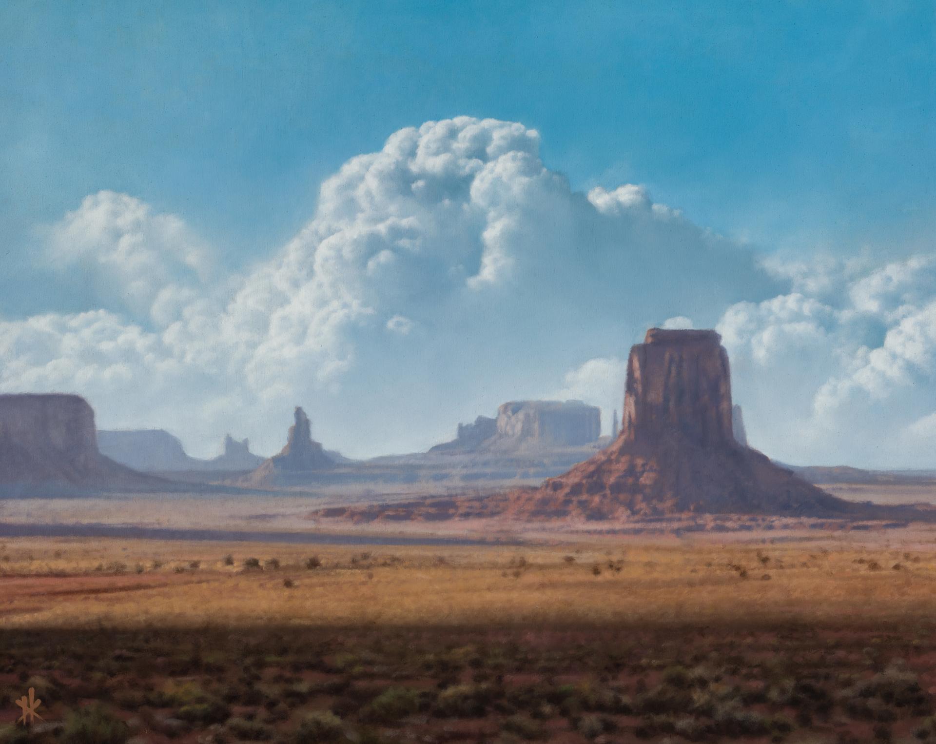 Artist's Point, Monument Valley by Patrick Kramer