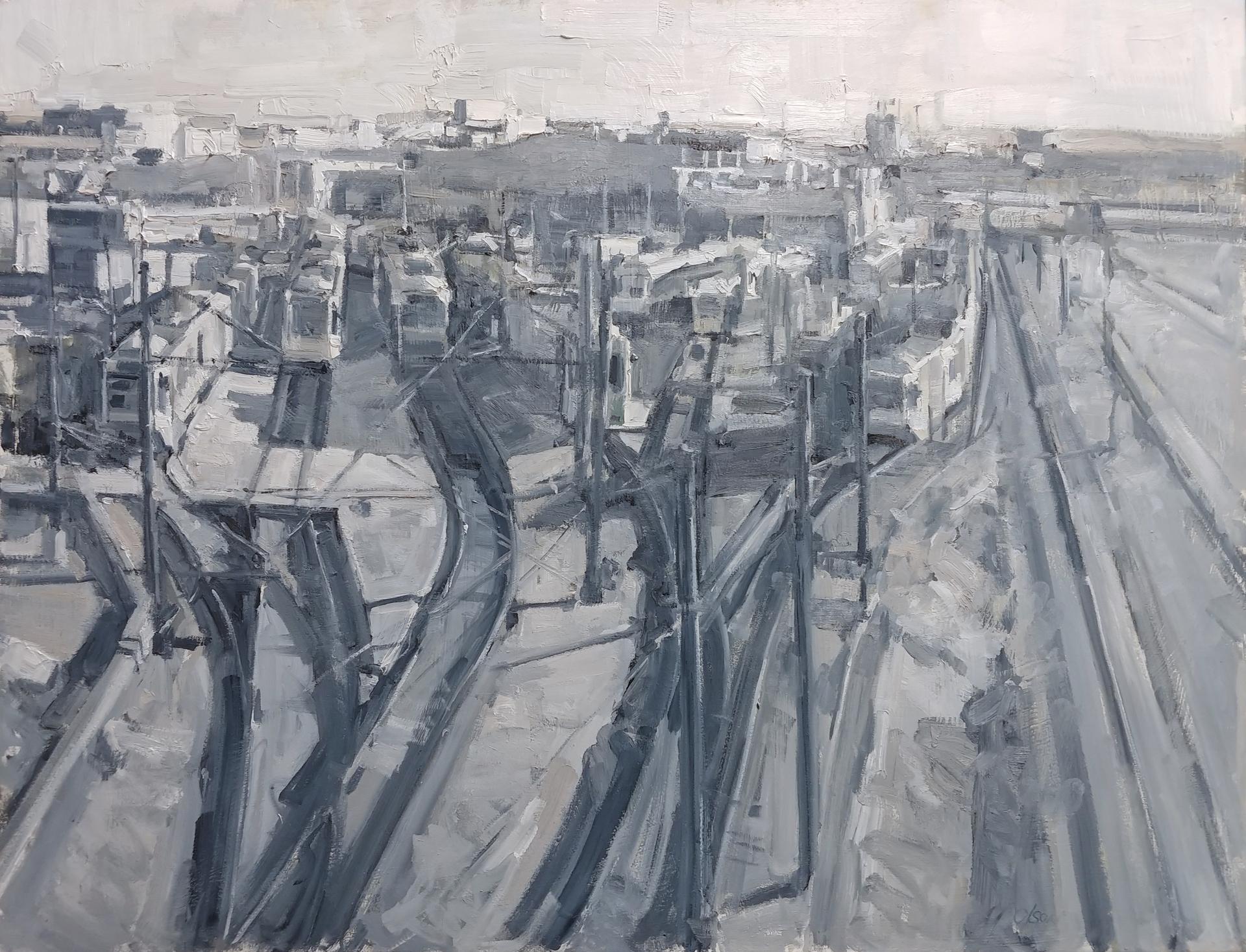 Light Rail Station by Mikael Olson