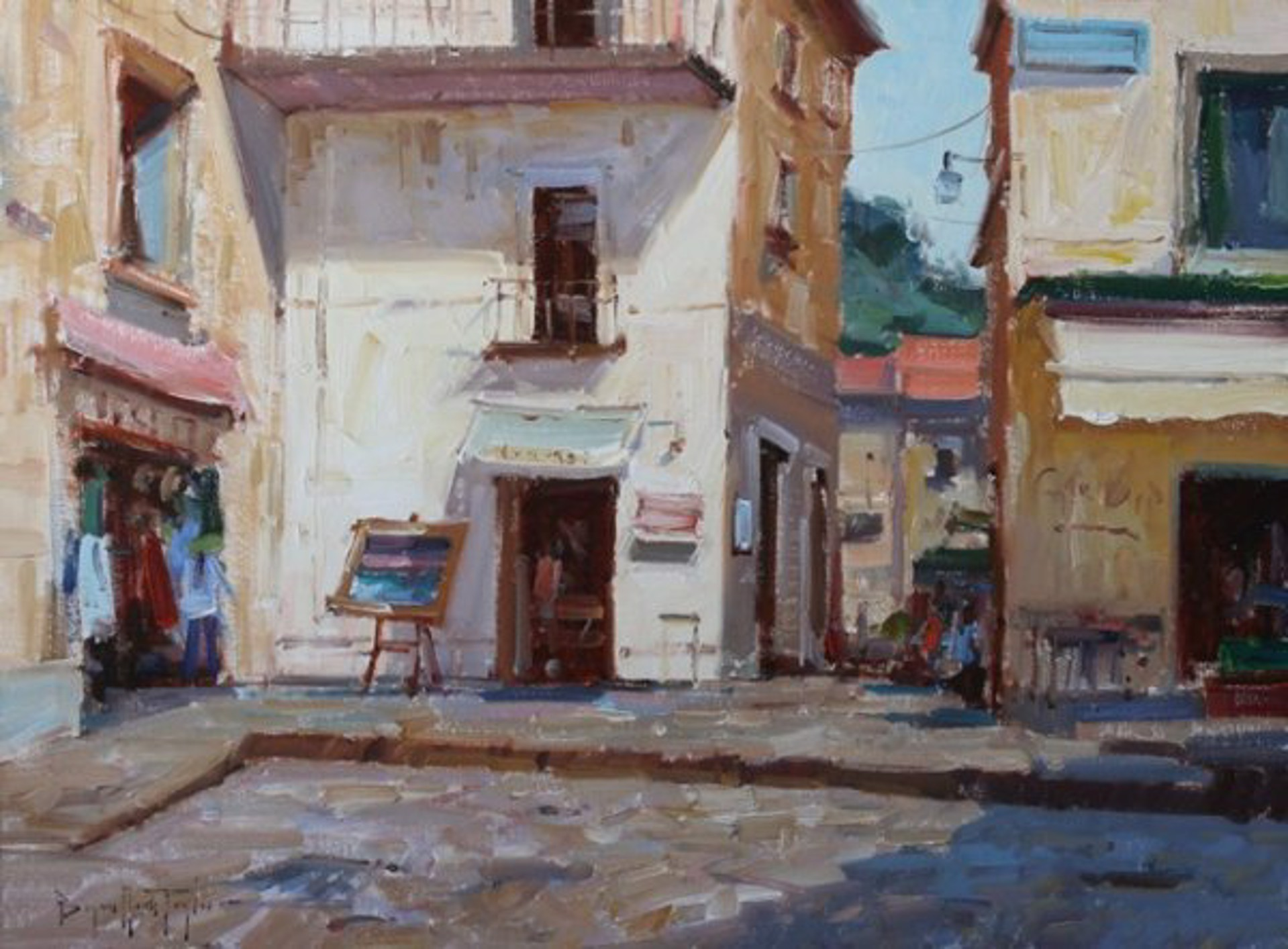 Corner Shop by Bryan Mark Taylor