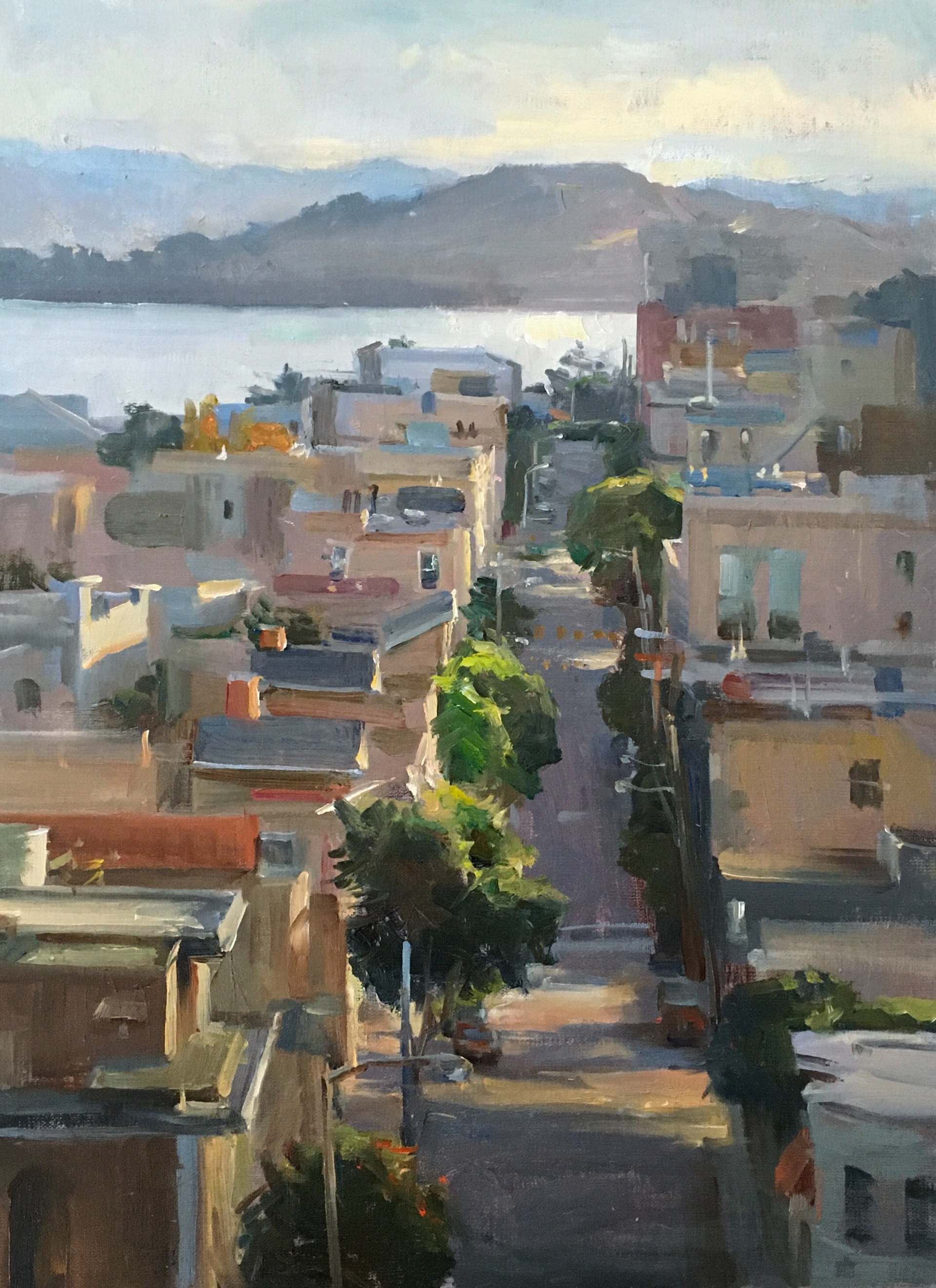 Russian Hill Morning by Kyle Ma