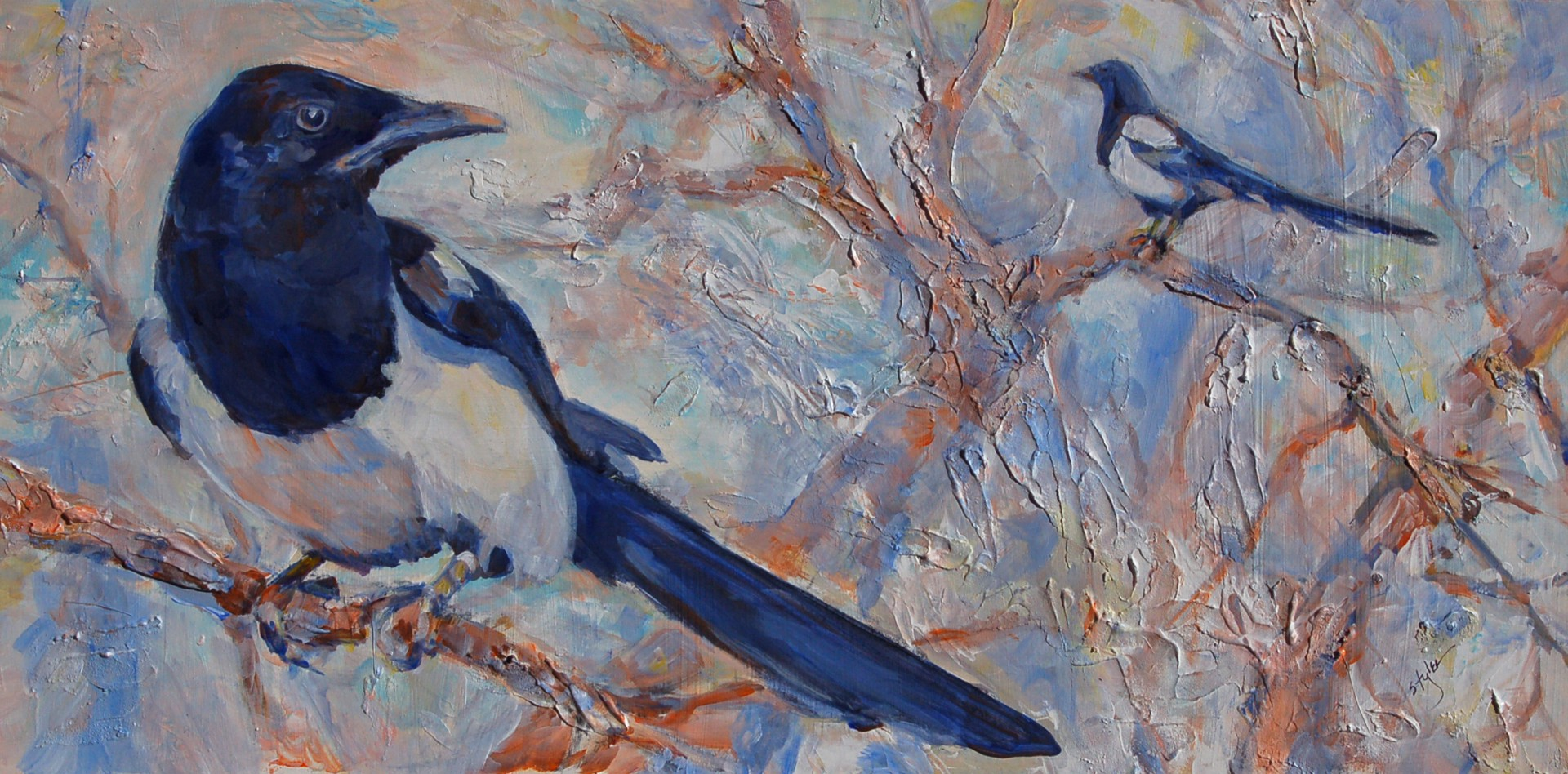 Corvids Not Covid by Sue Tyler