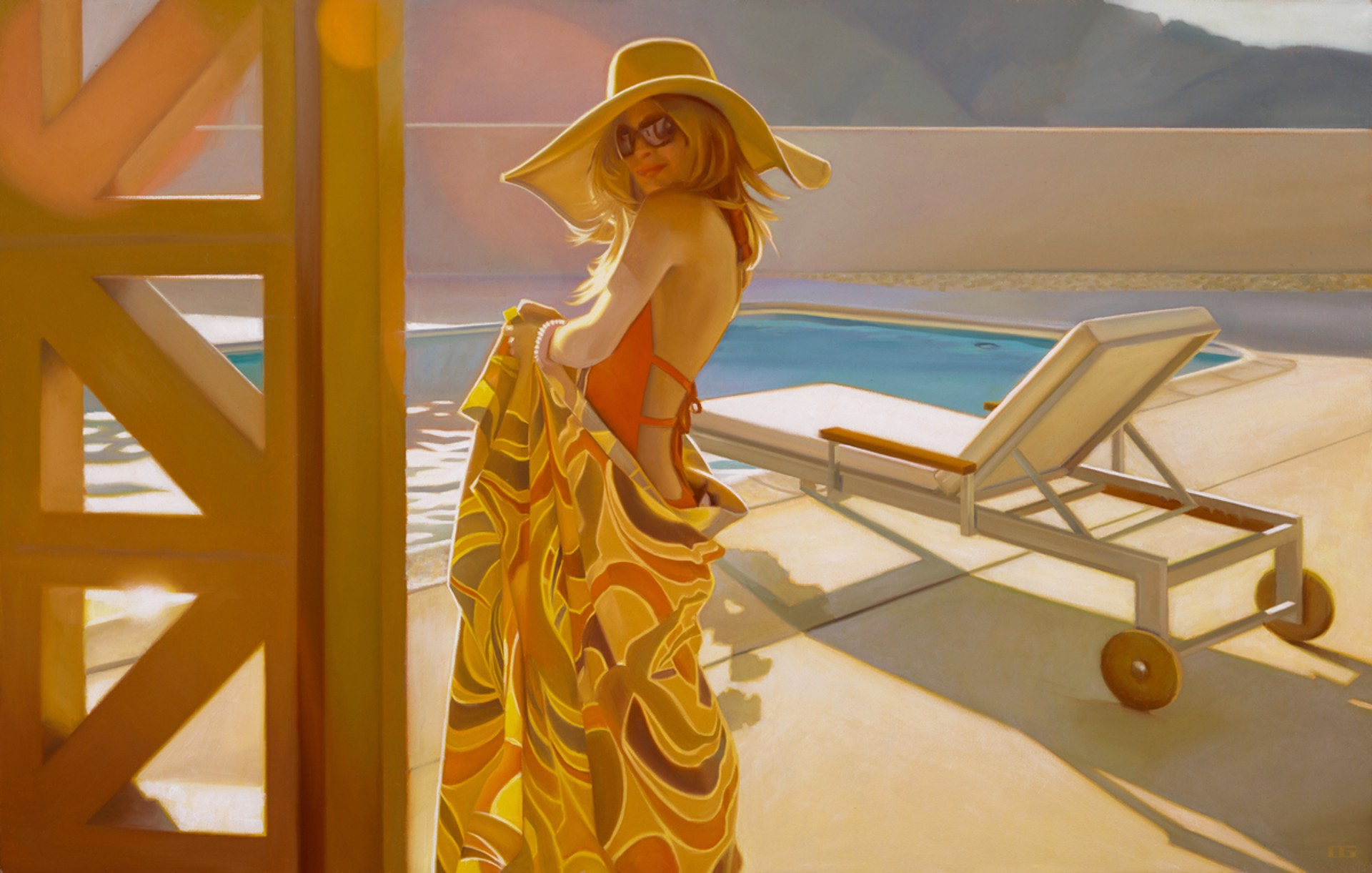 Autumn in the Desert (S/N) by Carrie Graber