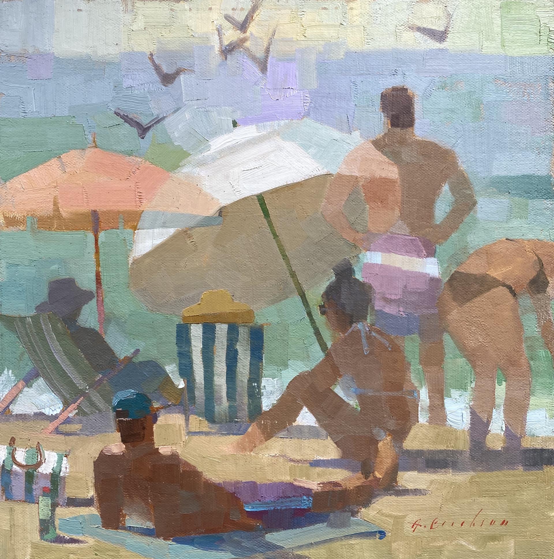 Sur La Plage by Aimee Erickson