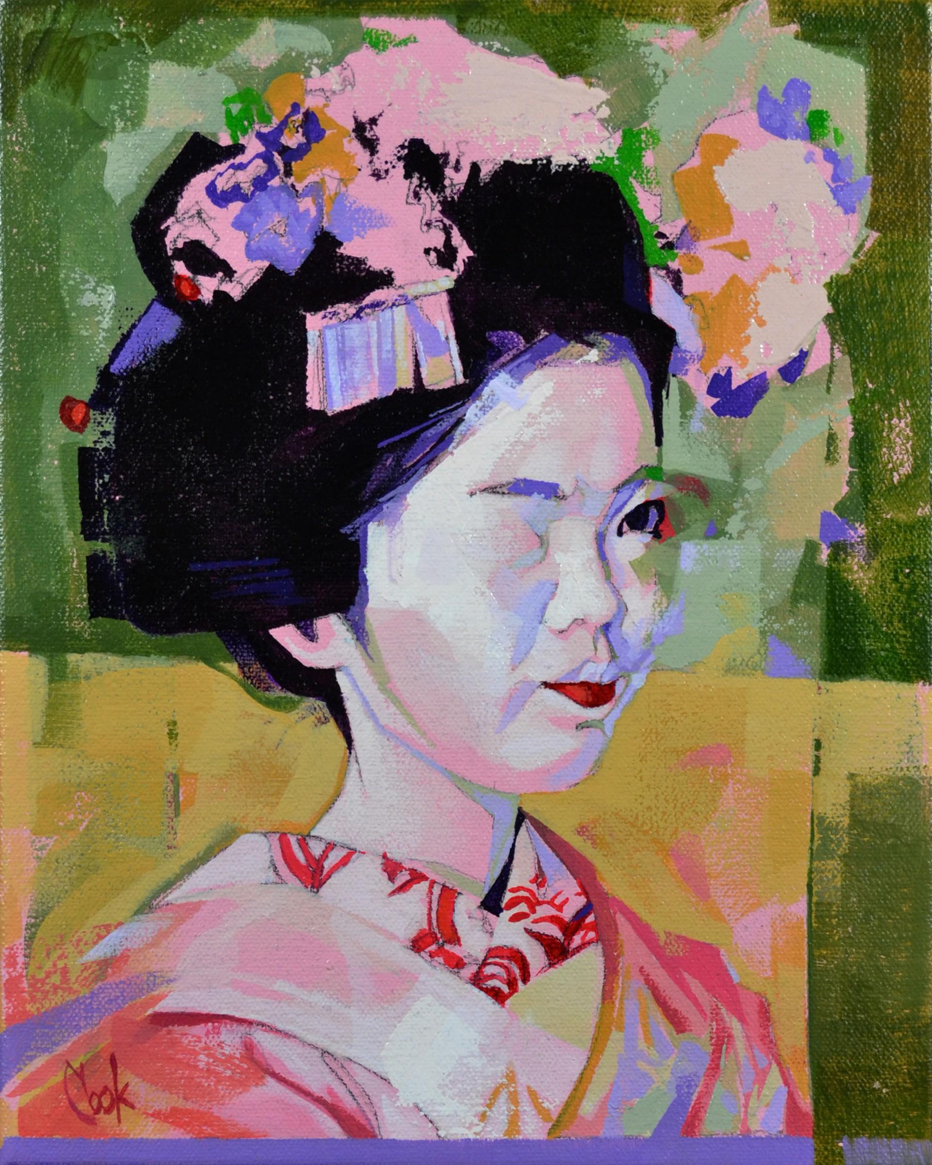 Geisha Study 1 by Bud Cook
