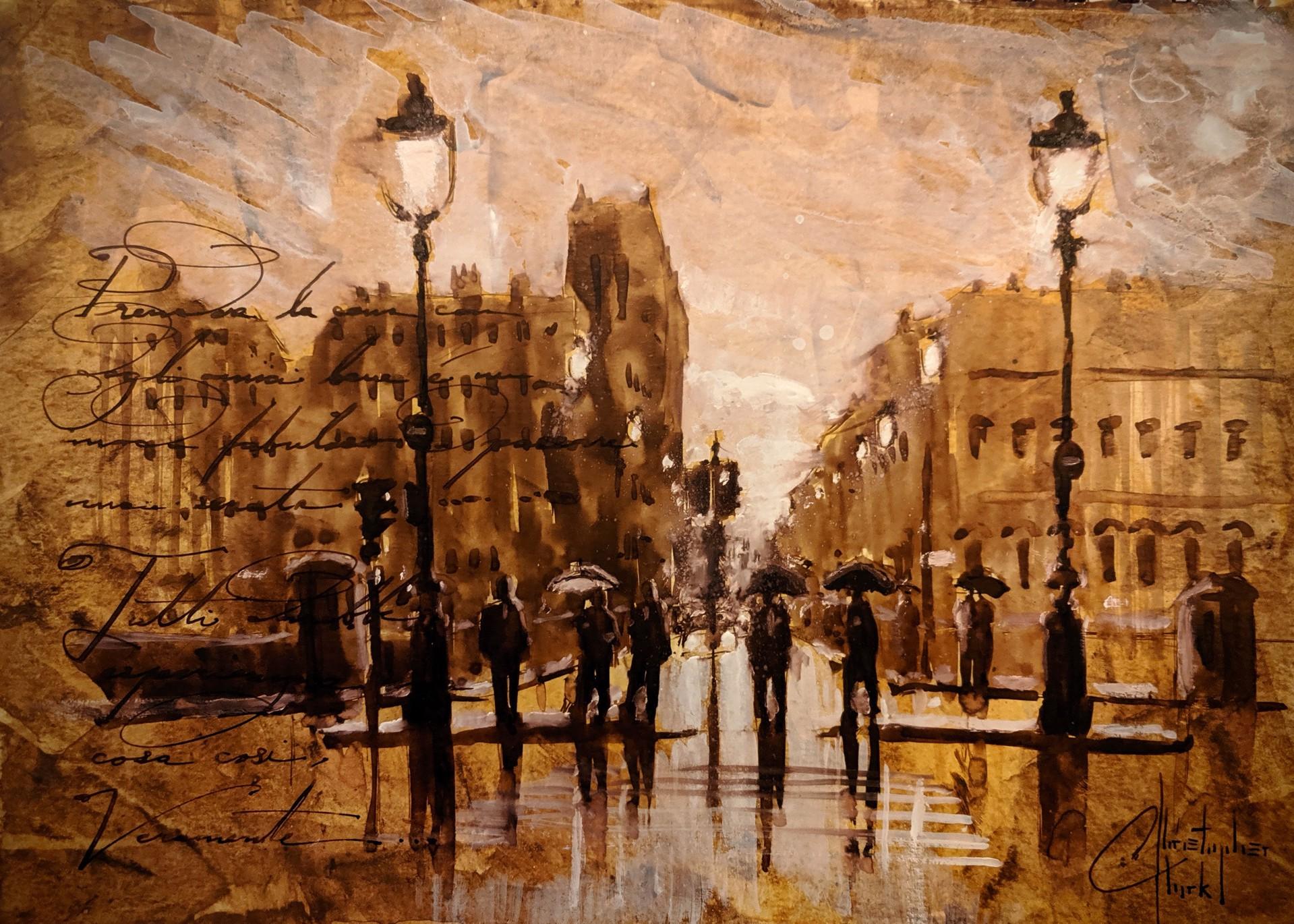 Sepia Tone, Paris IV by Christopher Clark