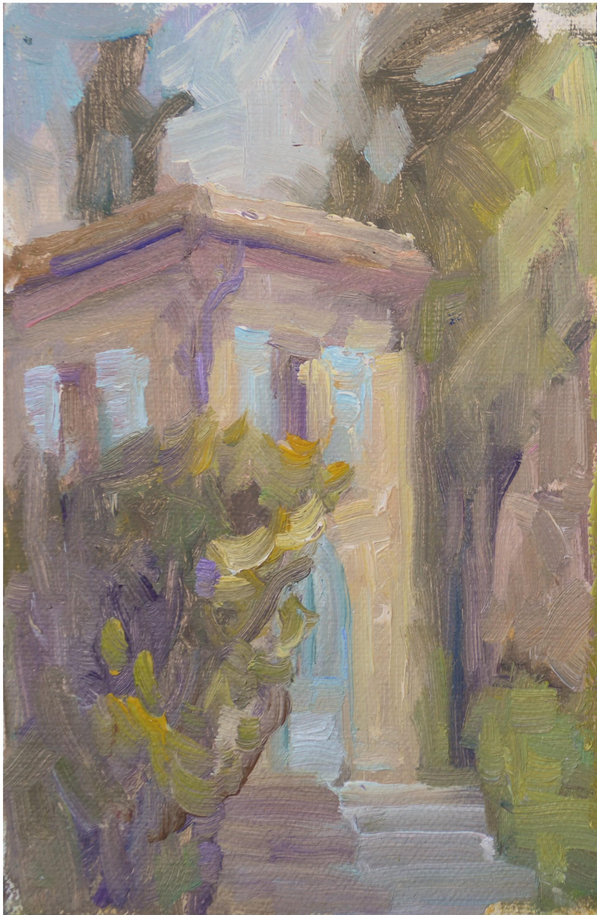 Corner of Spannoccia by Karen Hewitt Hagan