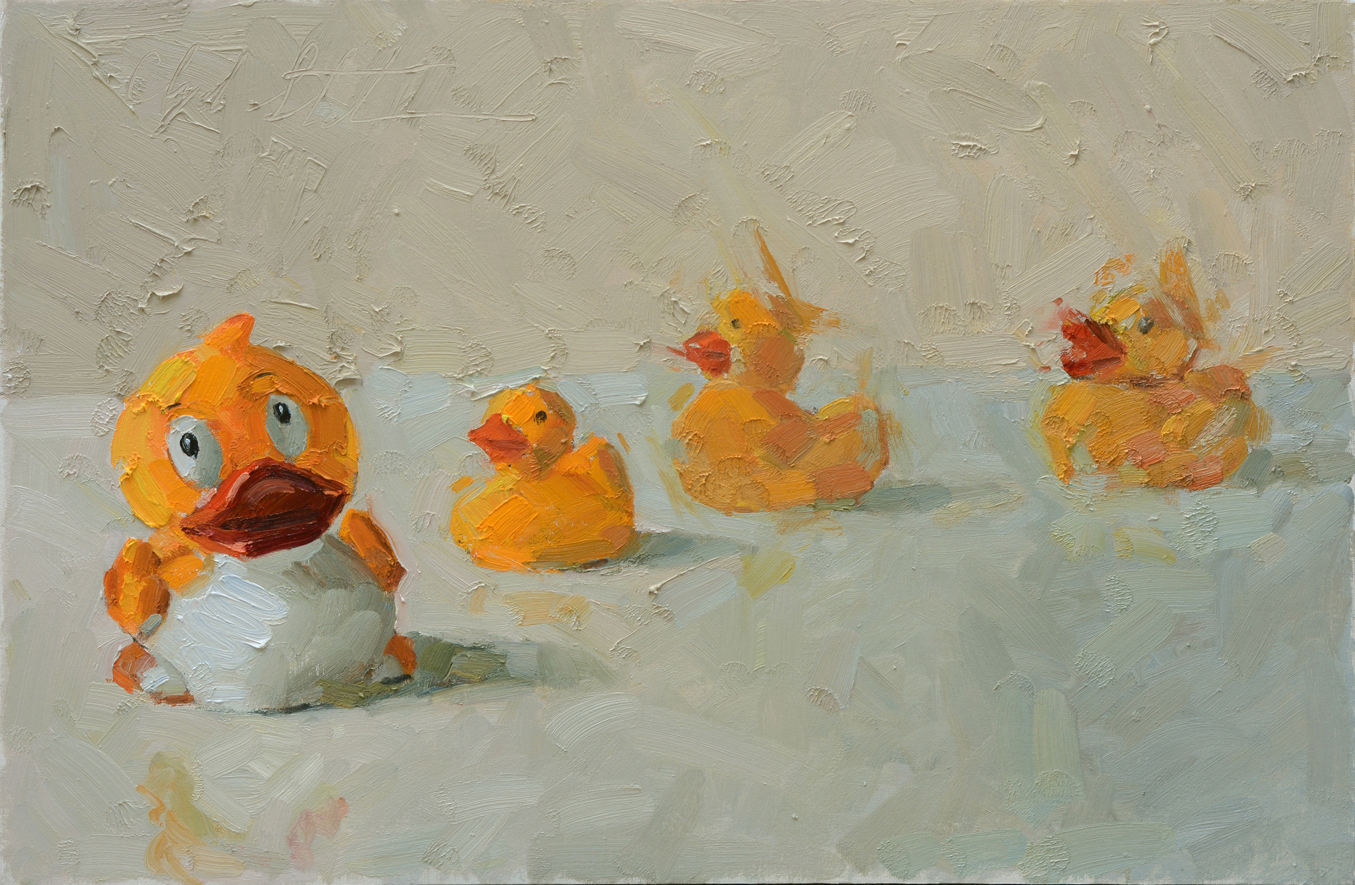 Family Outing by Clyde Steadman