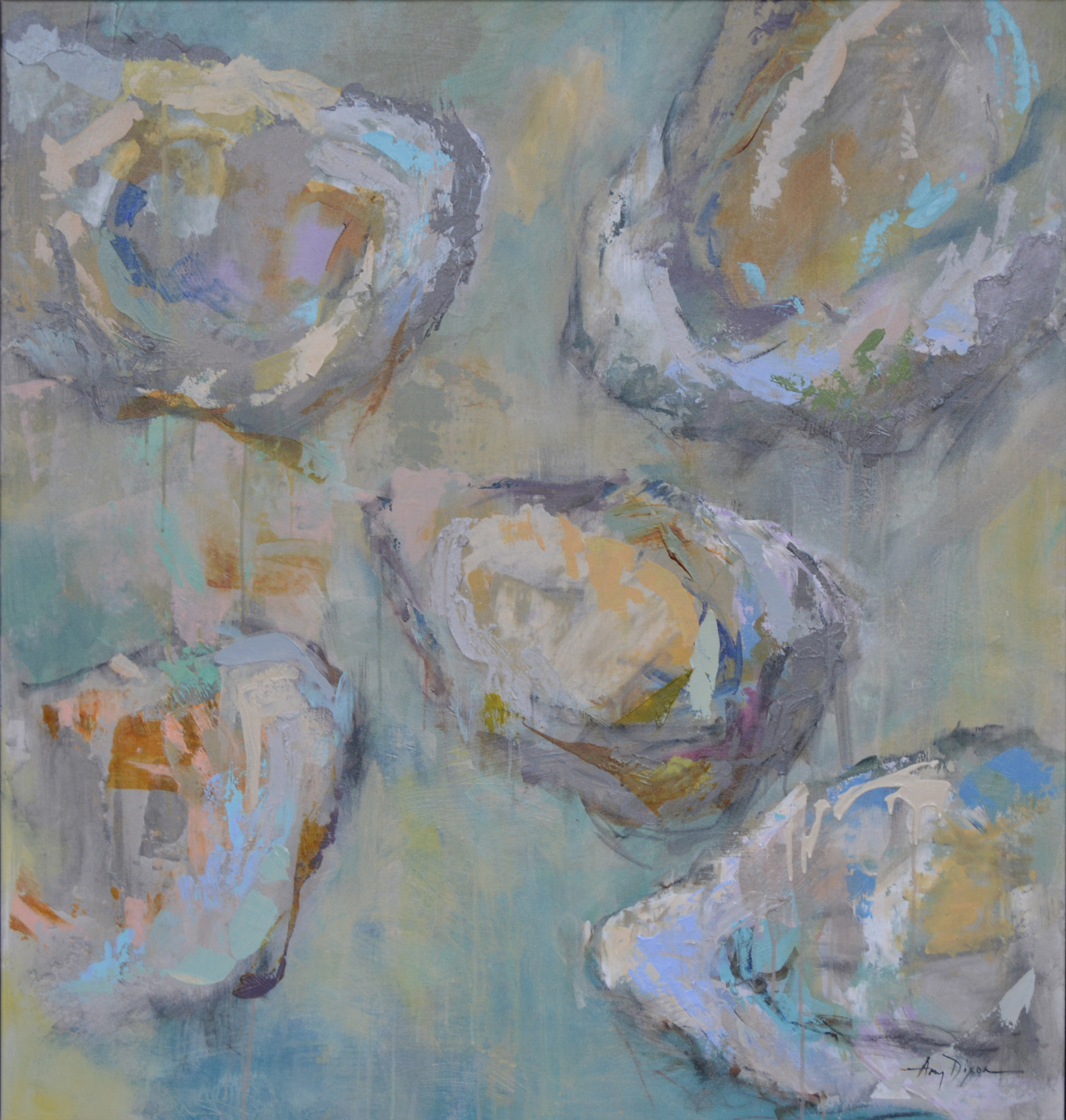 Oyster Pearl by Amy Dixon