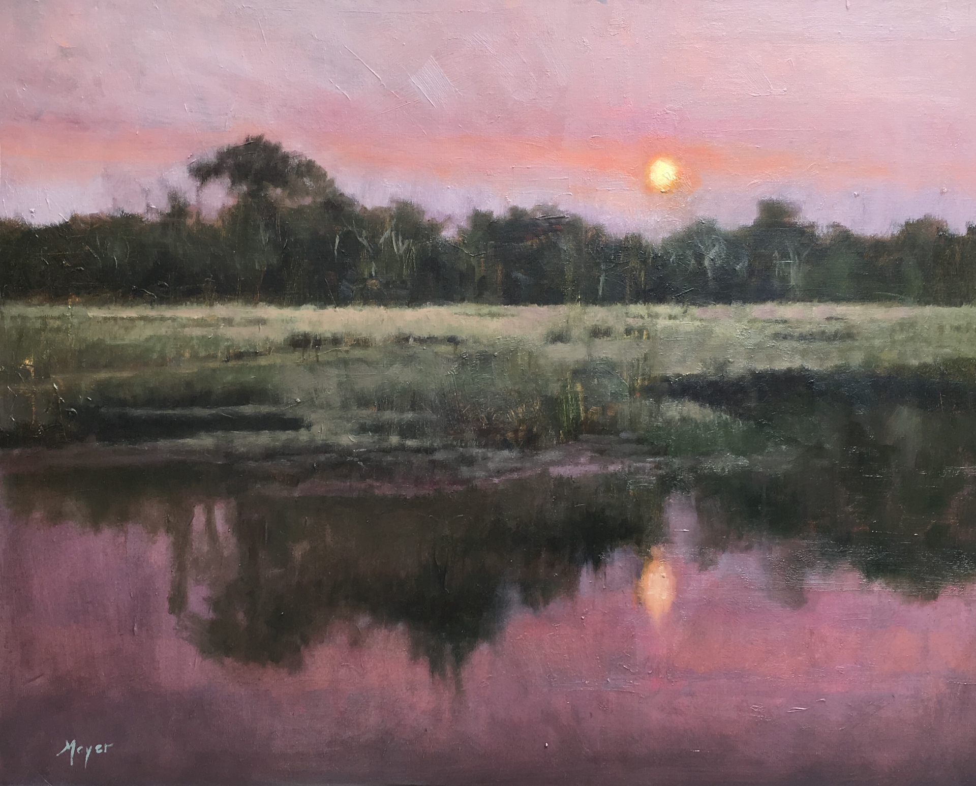 Boone Hall Creek by Laurie Meyer