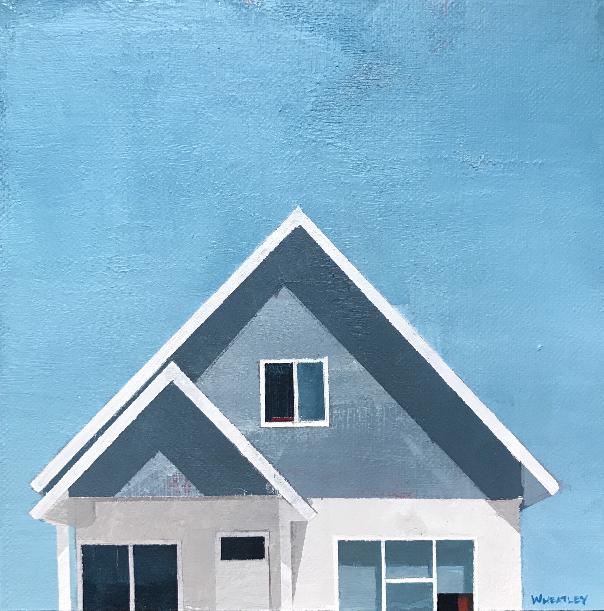 Blue House by Justin Wheatley