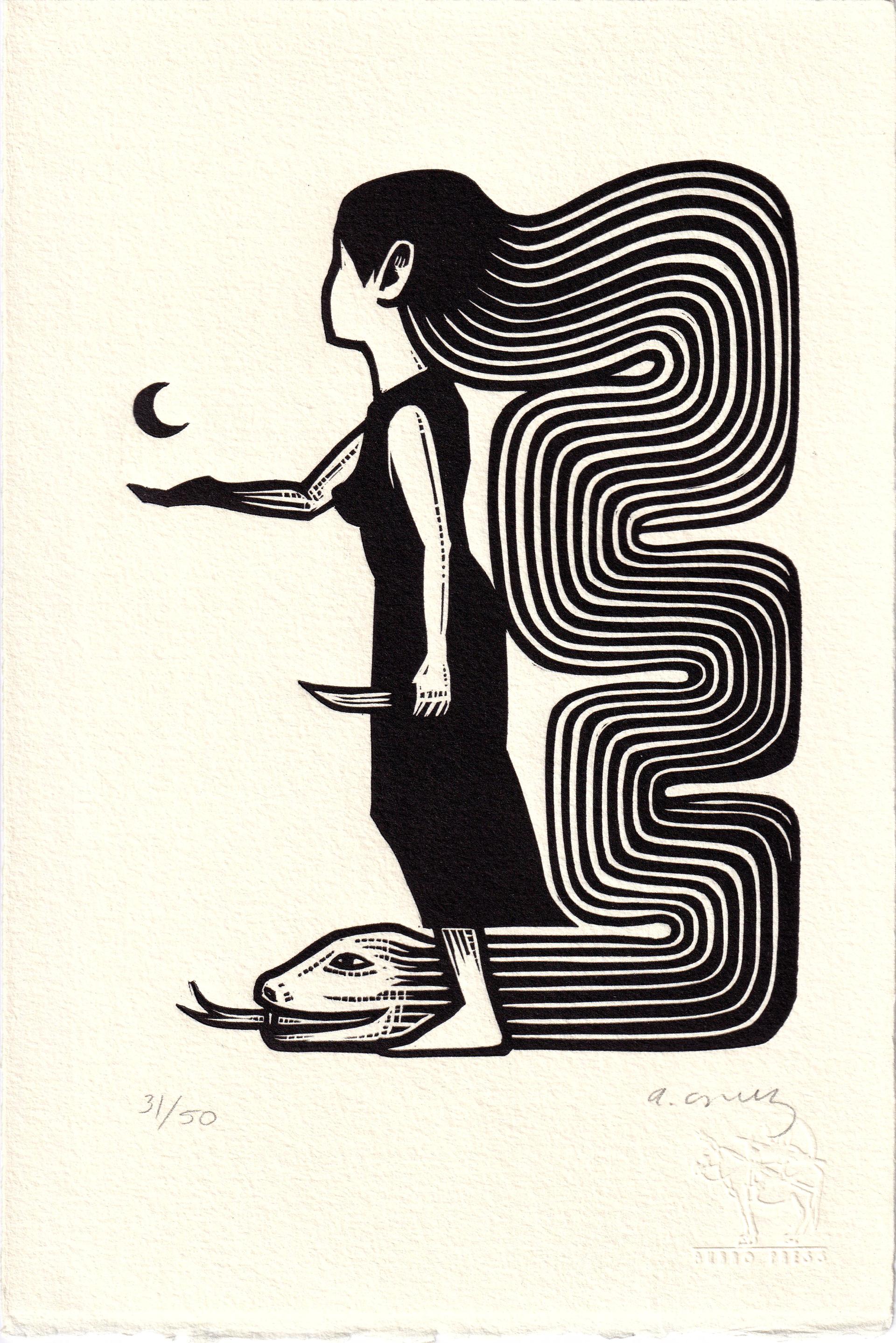 Untitled (Luna Serpiente) by Alberto Cruz