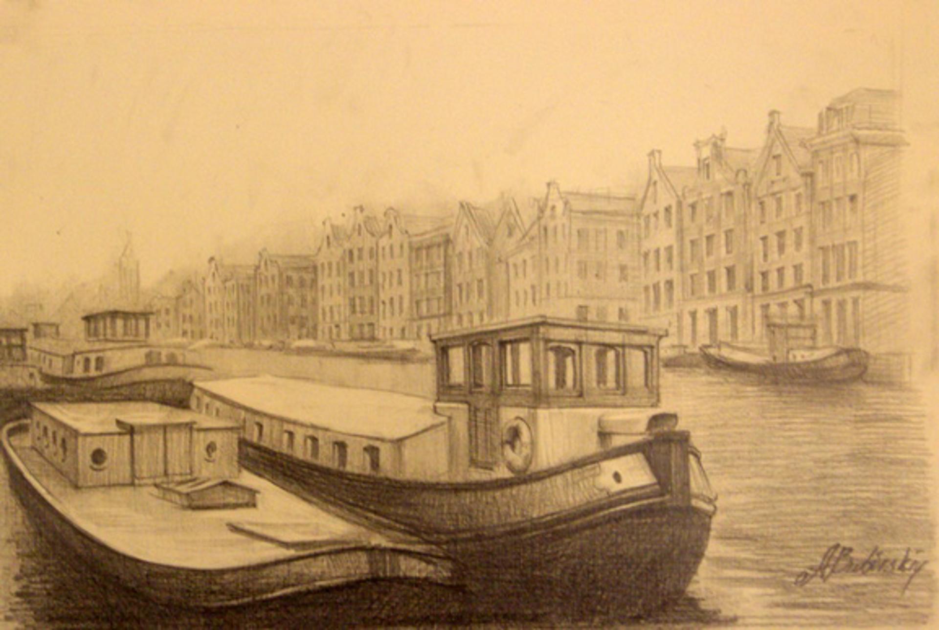Beautiful Amsterdam by Alexei Butirskiy