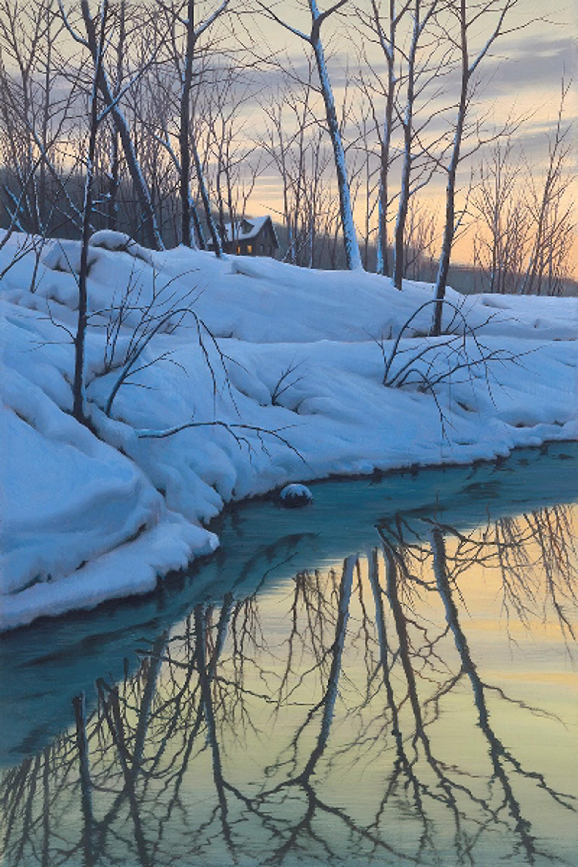 Winter Stream by Alexei Butirskiy