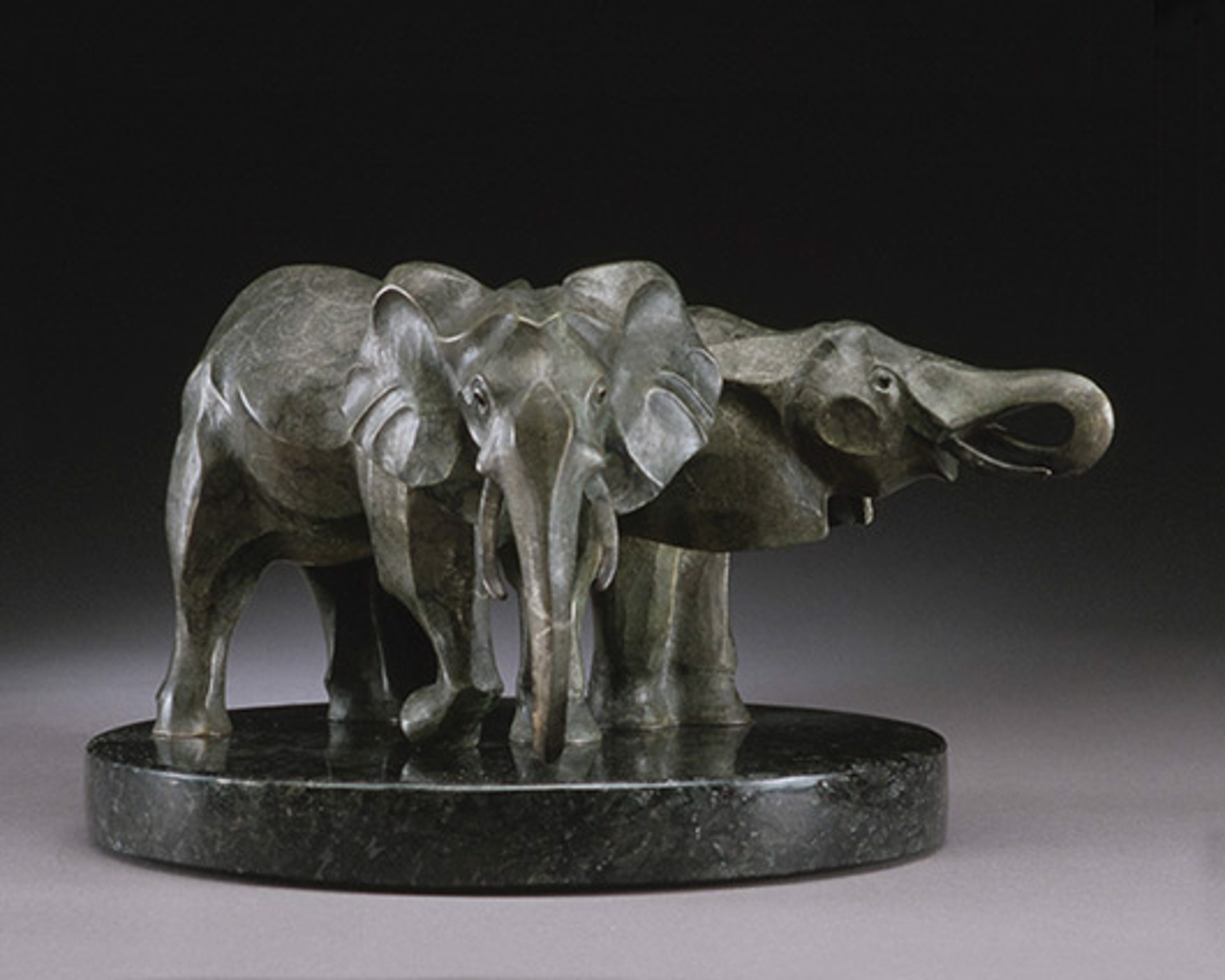 At the Waterhole Maquette by Rosetta