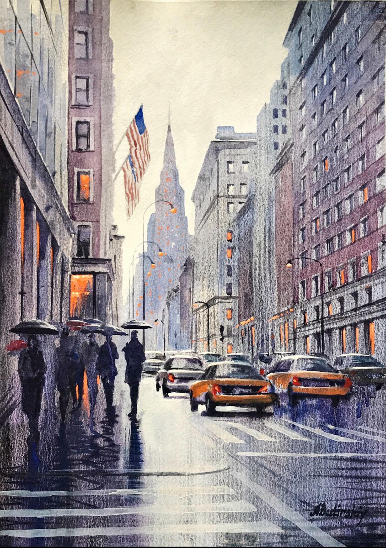 Manhattan Mood by Alexei Butirskiy