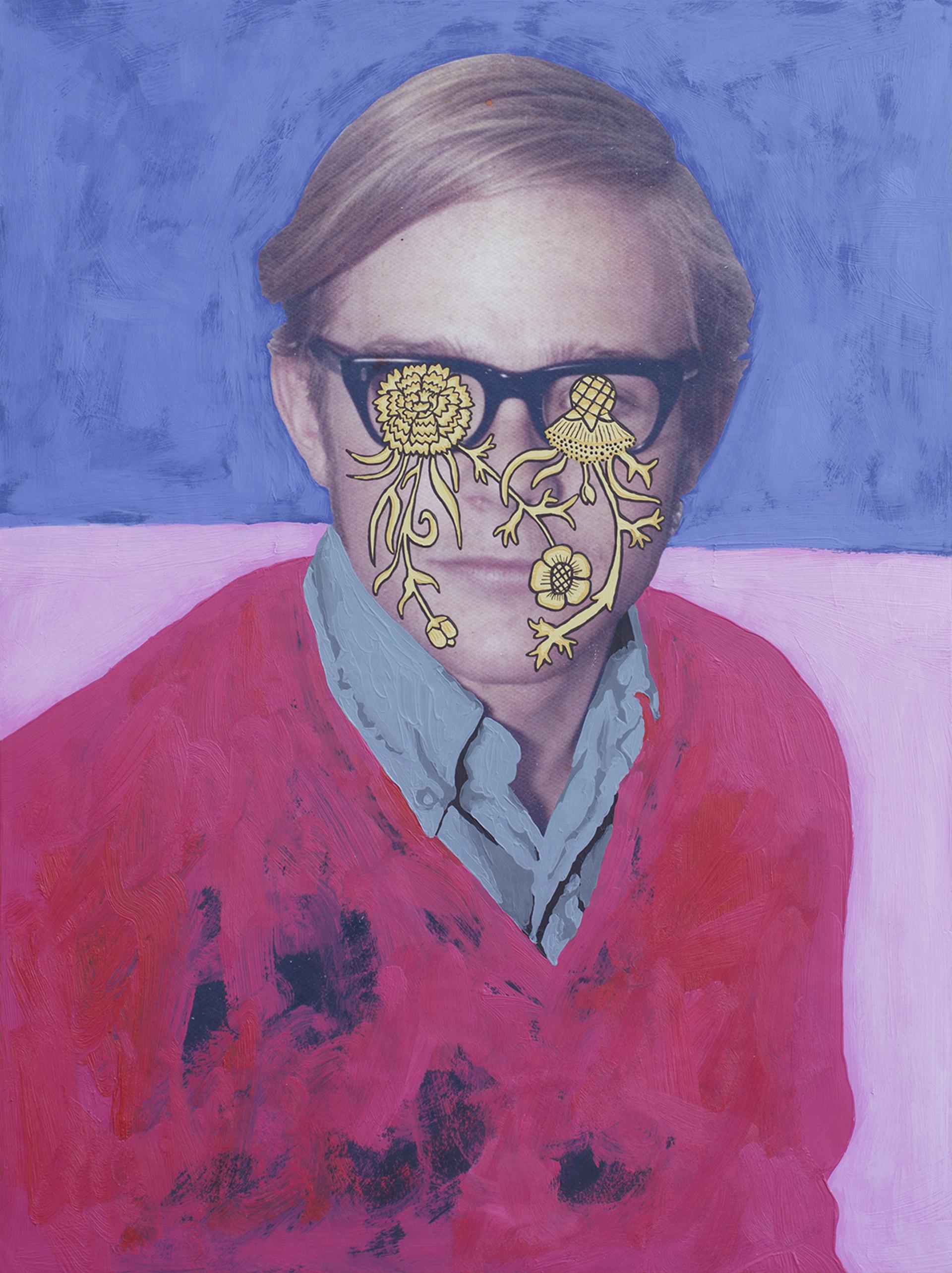 Untitled (Flower Eyes) by Daisy Patton