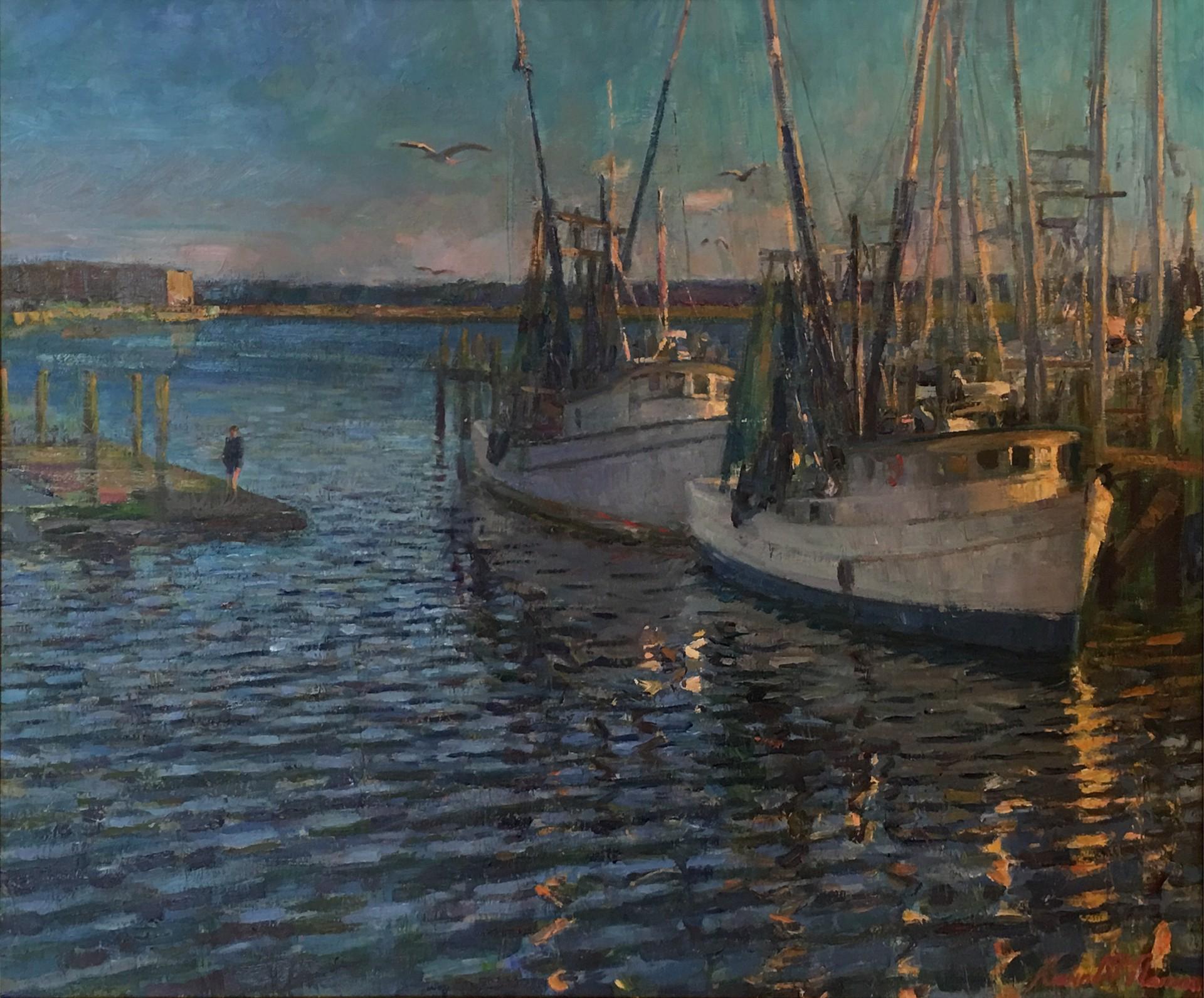Shrimp Boats (South Carolina) by Kevin McNamara