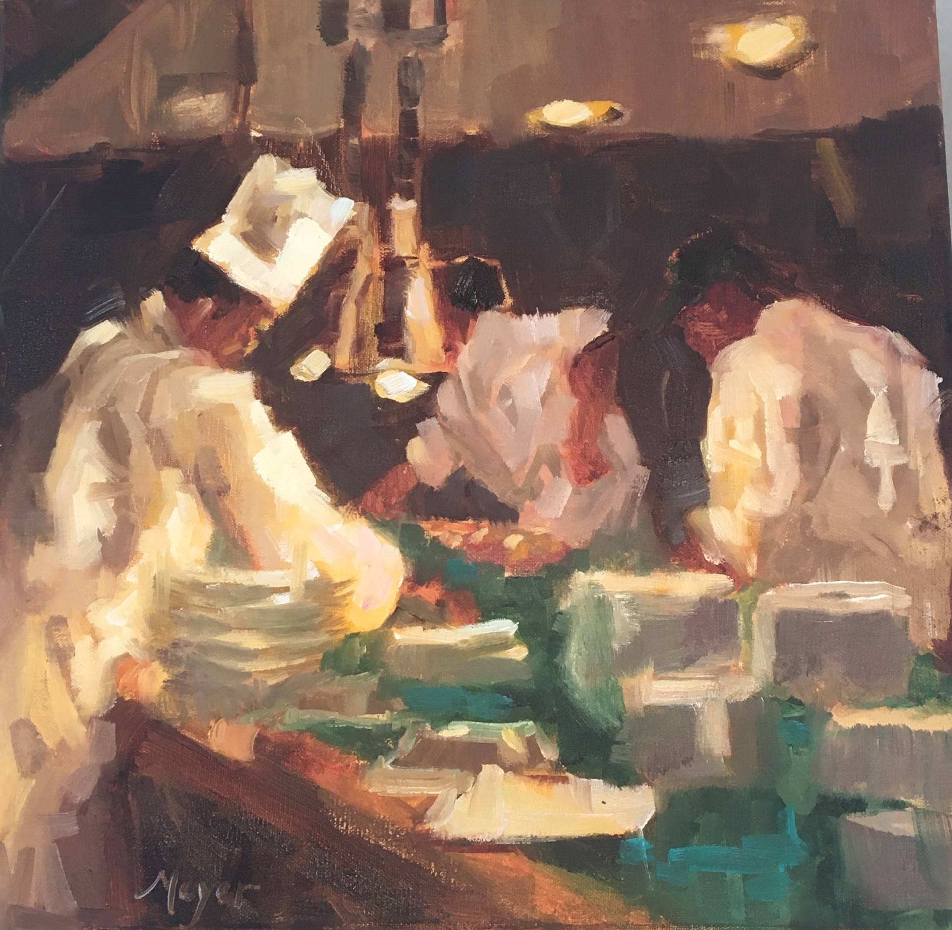 Assembly Line I by Laurie Meyer