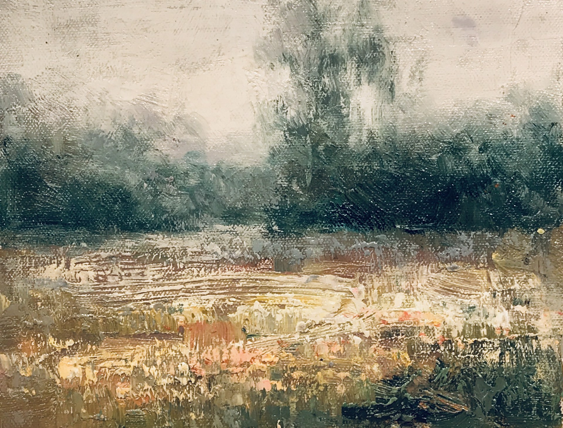 LANDSCAPE IN TEAL by VARIOUS WORKS
