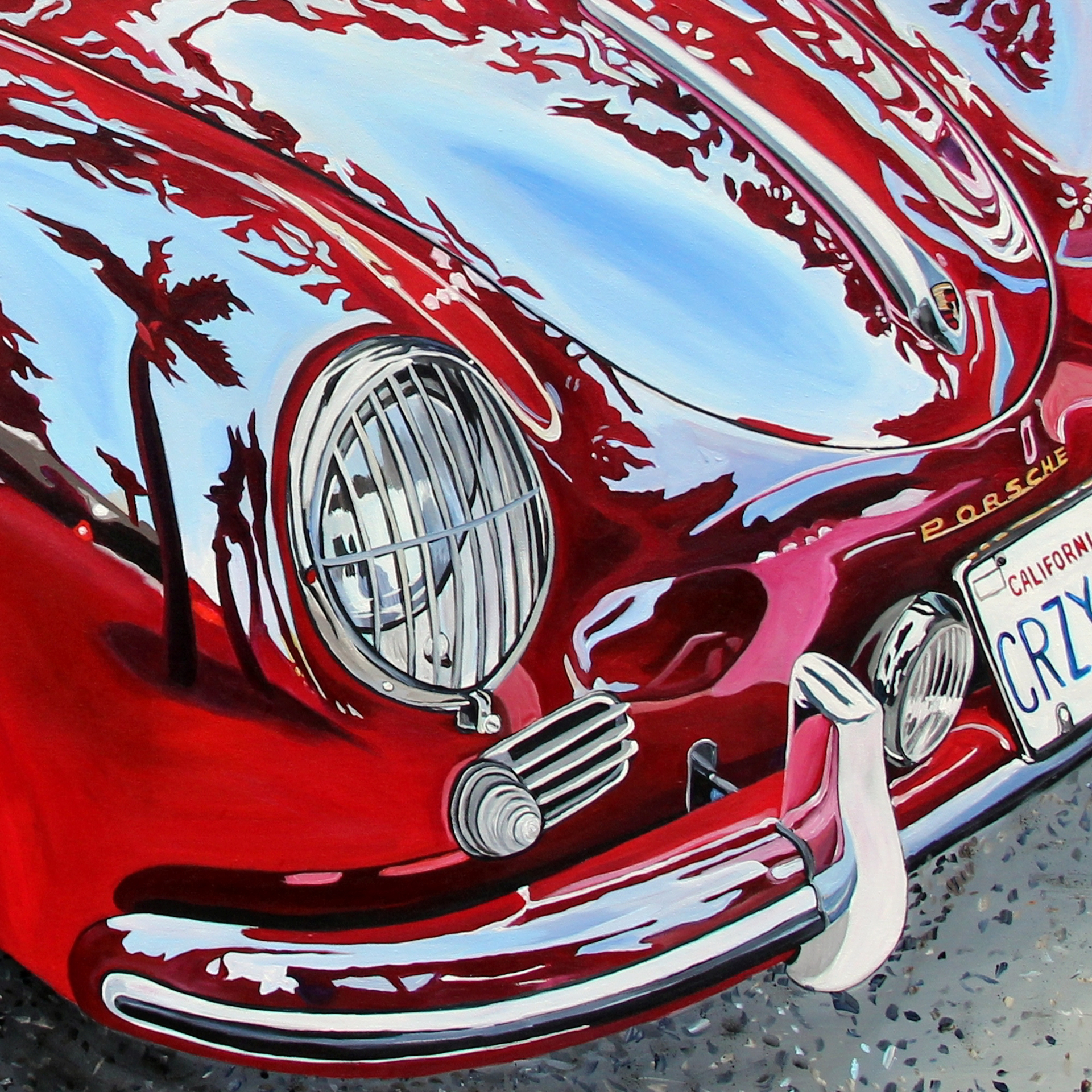 Late '50s Porsche 356 by Taralee Guild