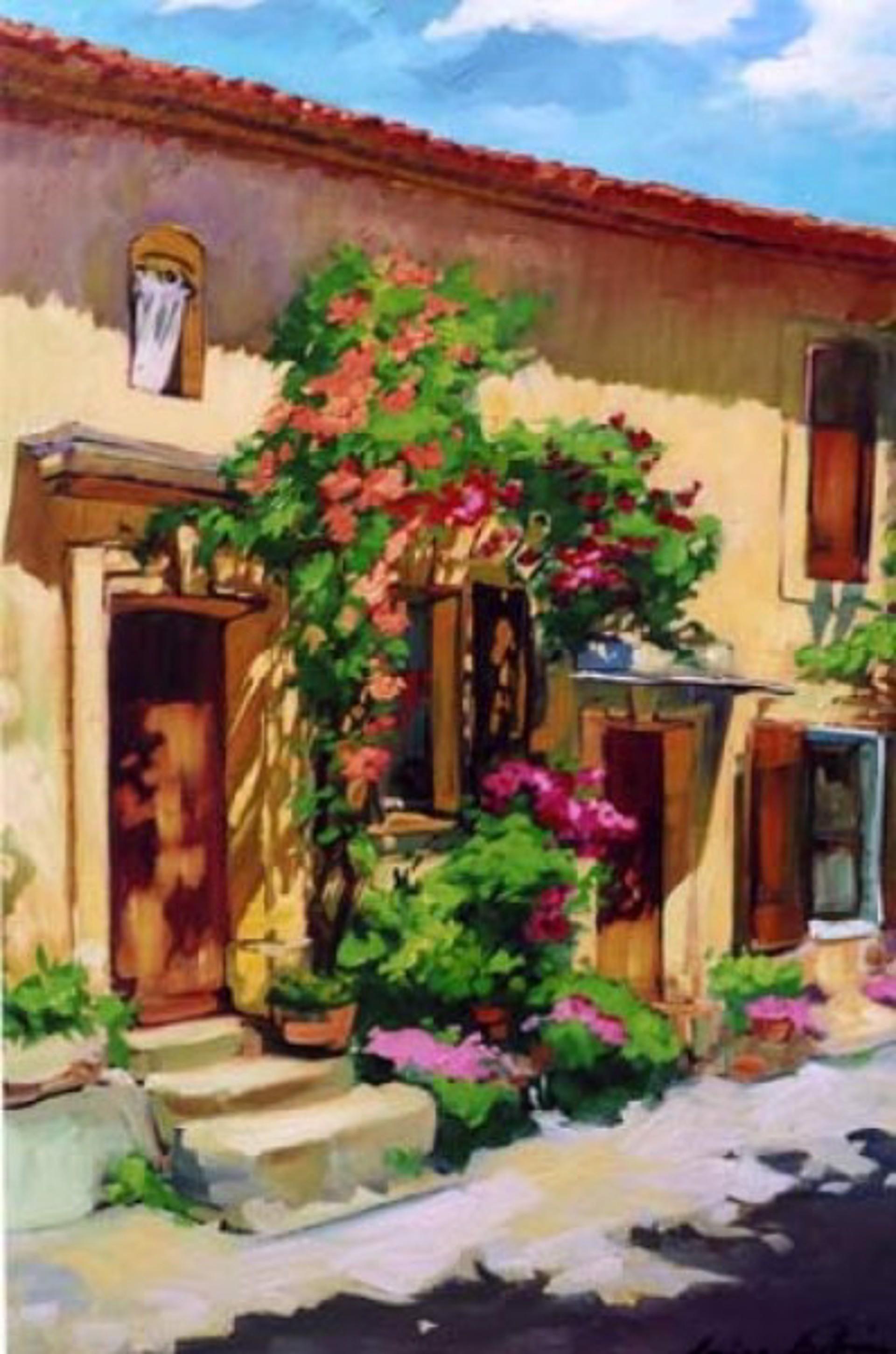 Bertran: Rose Facade by Maria Bertrán