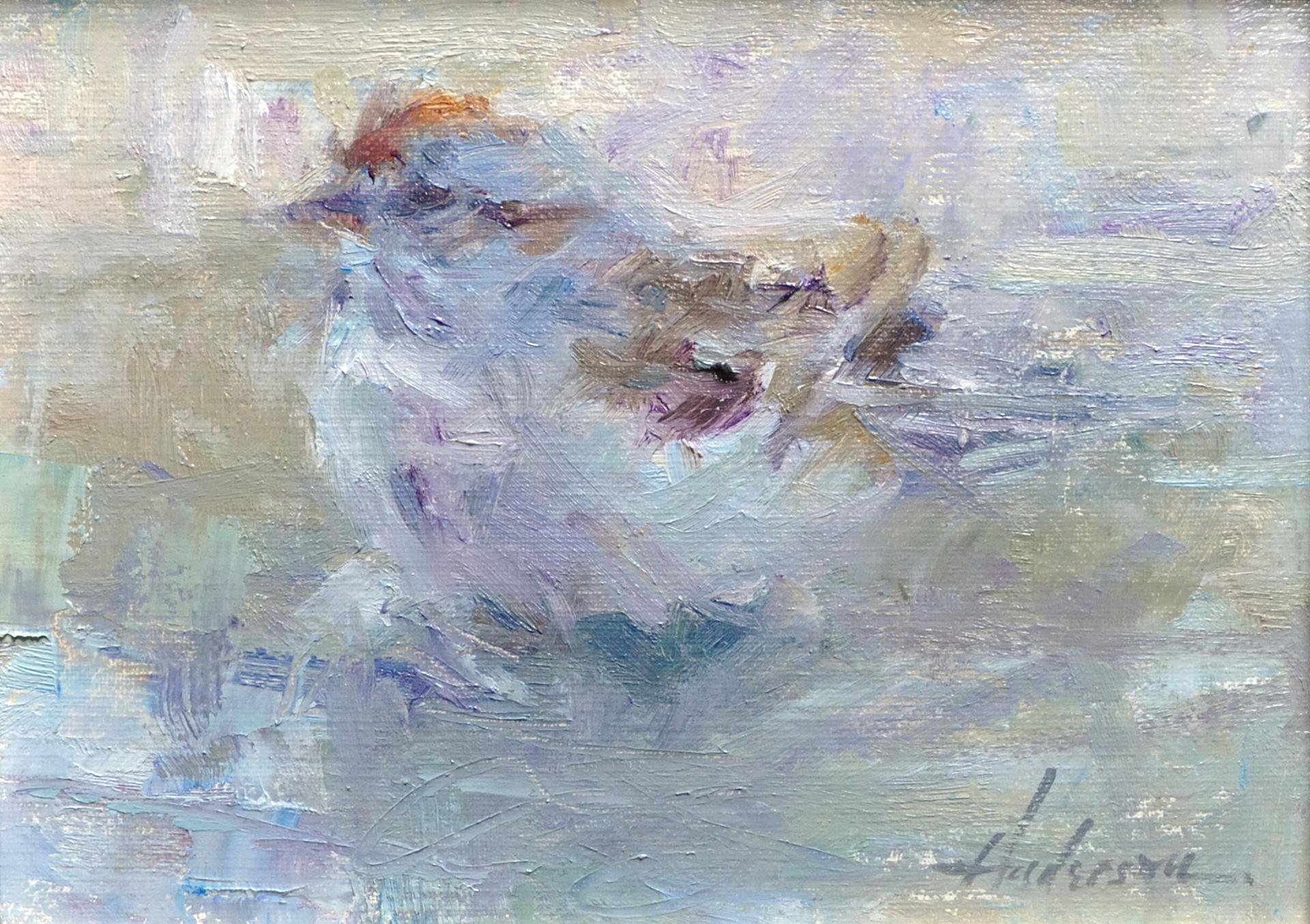 Bird Bath by Carolyn Anderson