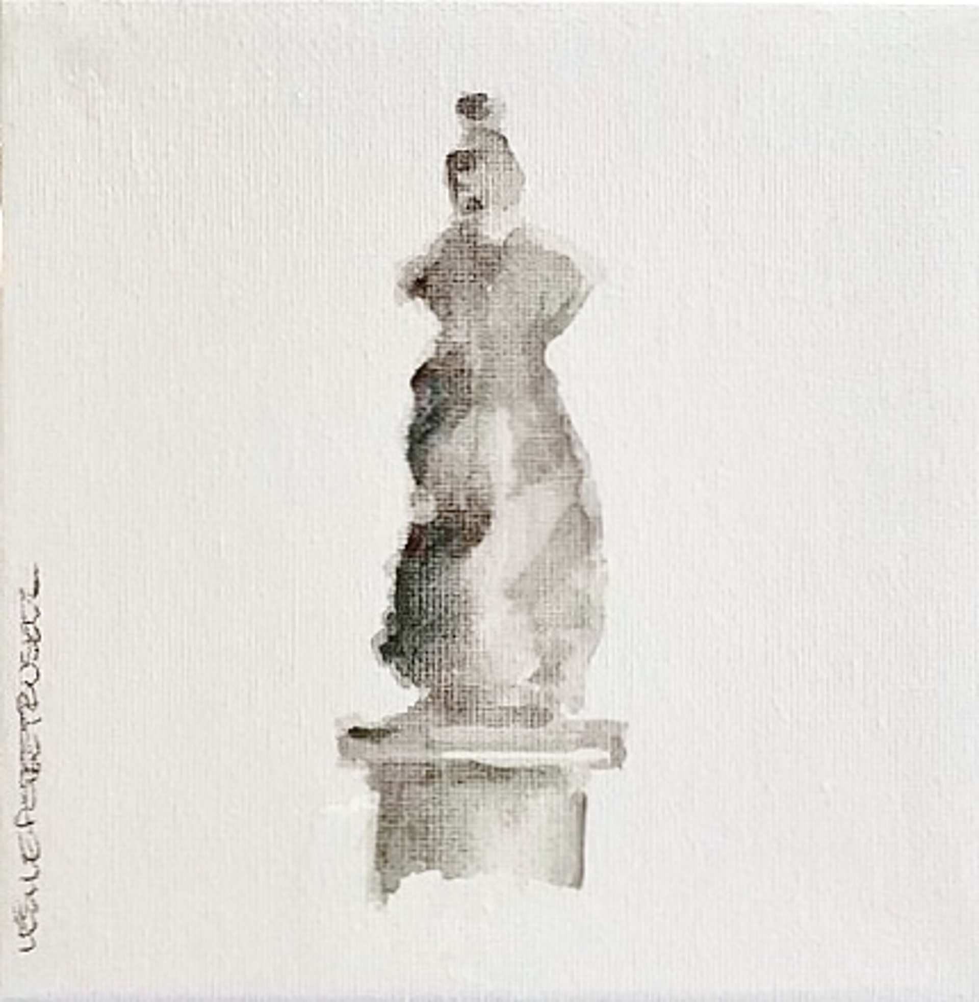 Statuesque III by Leslie Poteet Busker