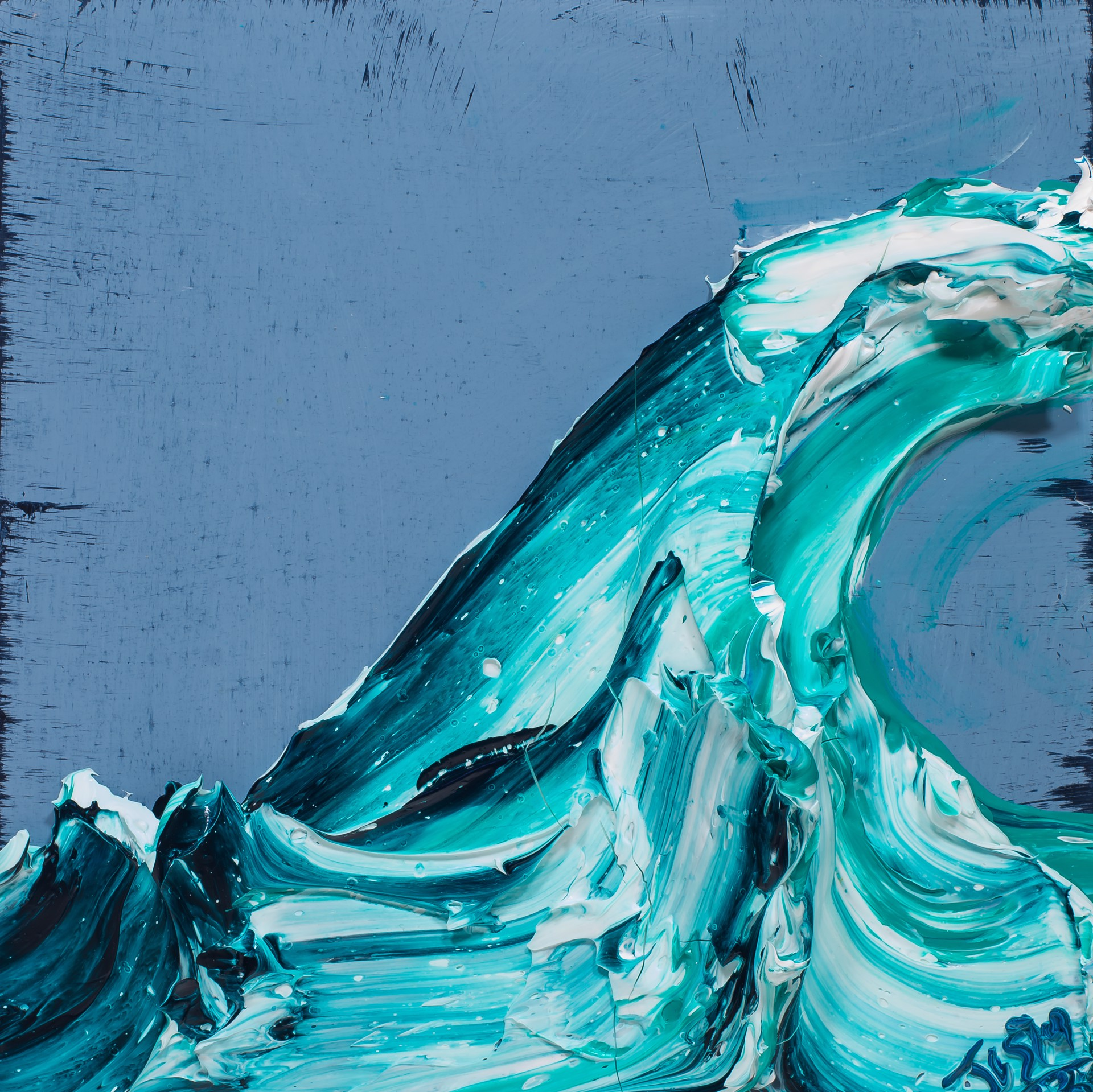 WAVE WV12X12-2019-134 by Justin Gaffrey