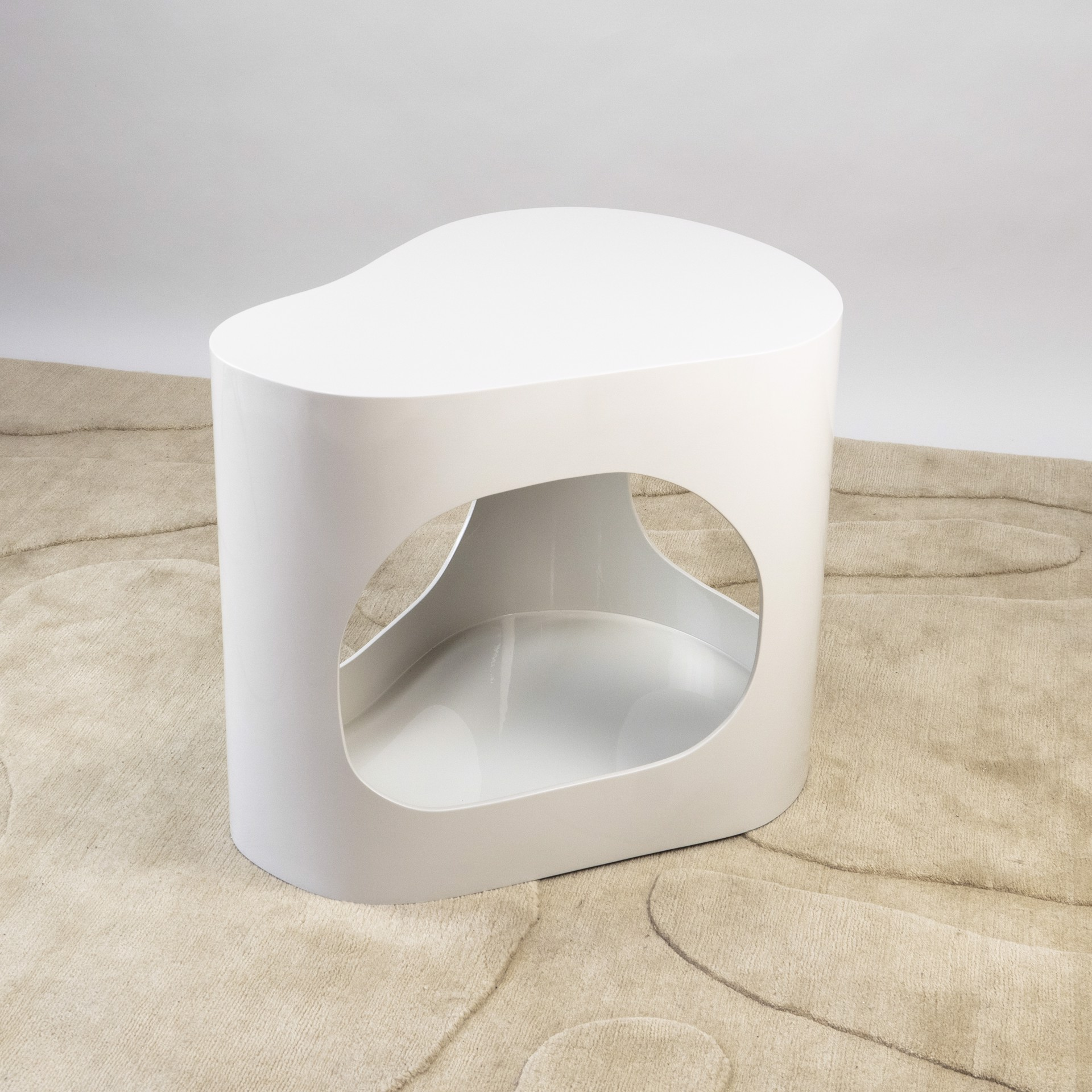 """""""Cloud"""" Side table   by Jacques Jarrige"""
