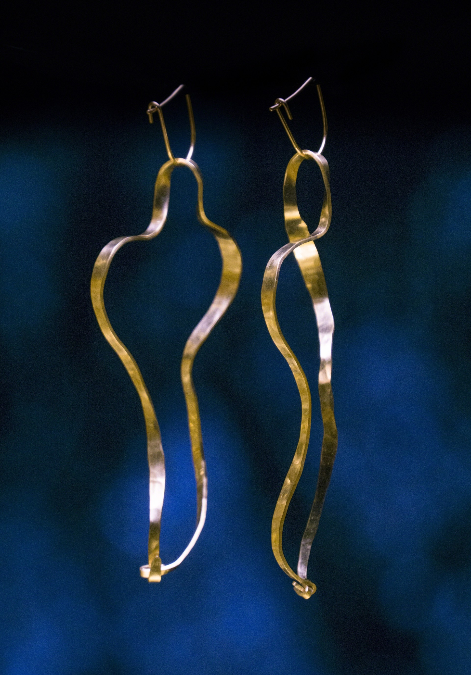 """Waves"" Earrings   by Jacques Jarrige"