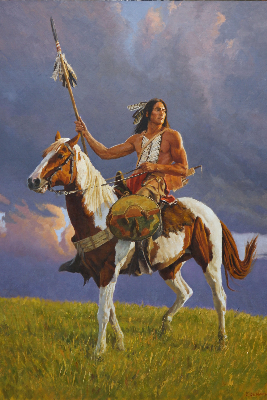 Cheyenne Scout by Barry Eisenach
