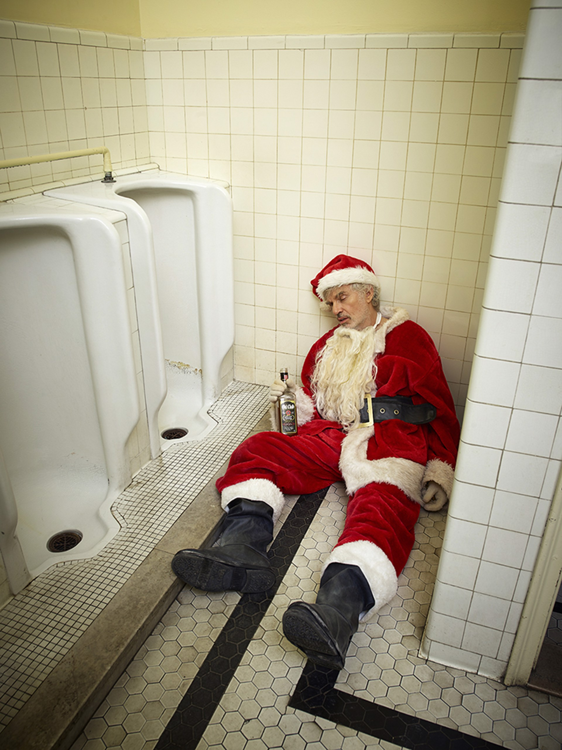 16005 Billy Bob Thornton Santa Color by Timothy White