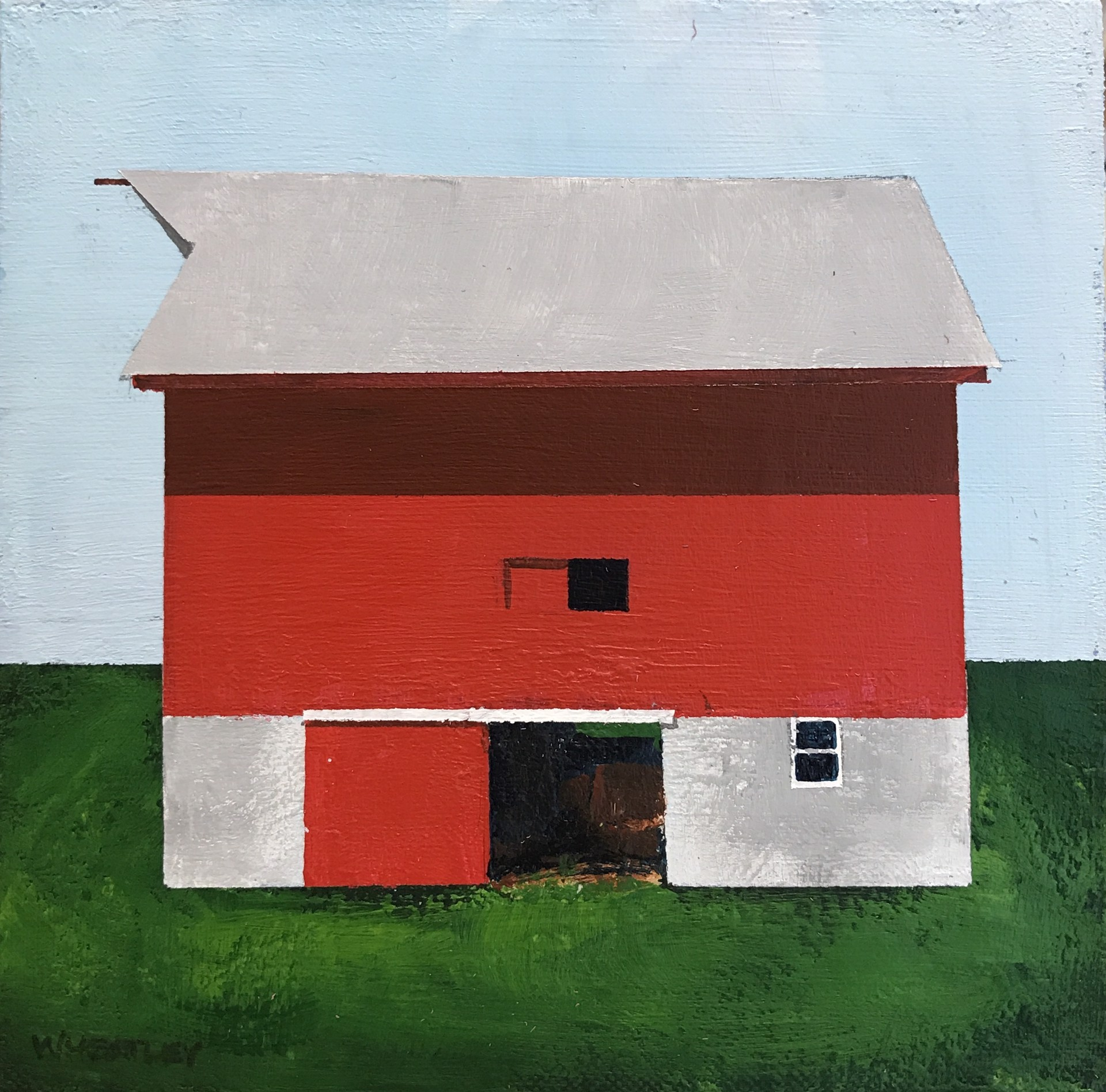 Red Barn by Justin Wheatley
