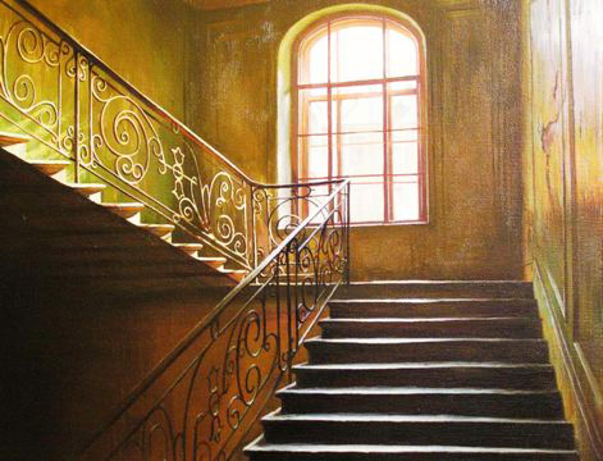 Stairs I Climb by Alexei Butirskiy