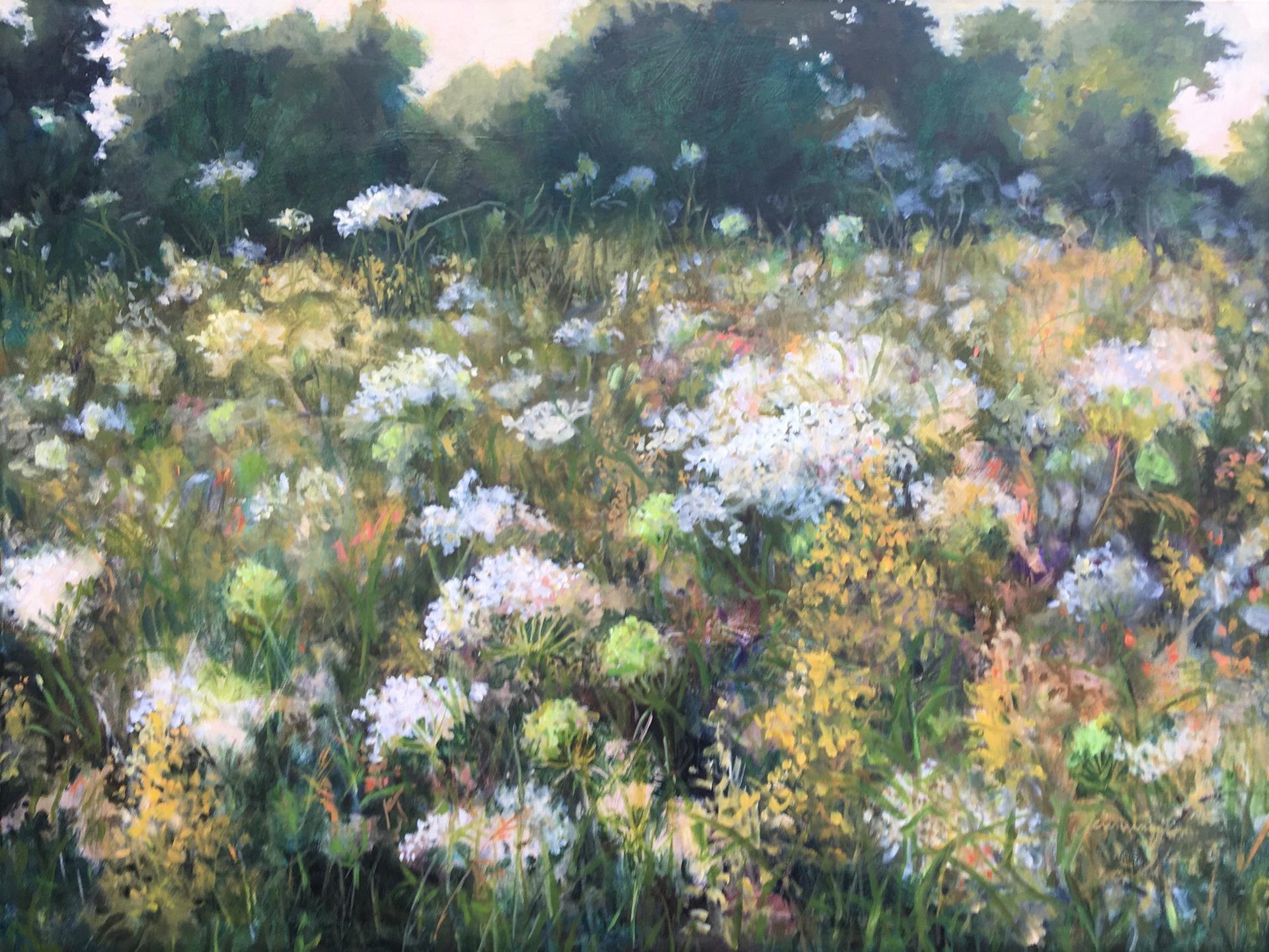 Field of Wildflowers by Nan Cunningham