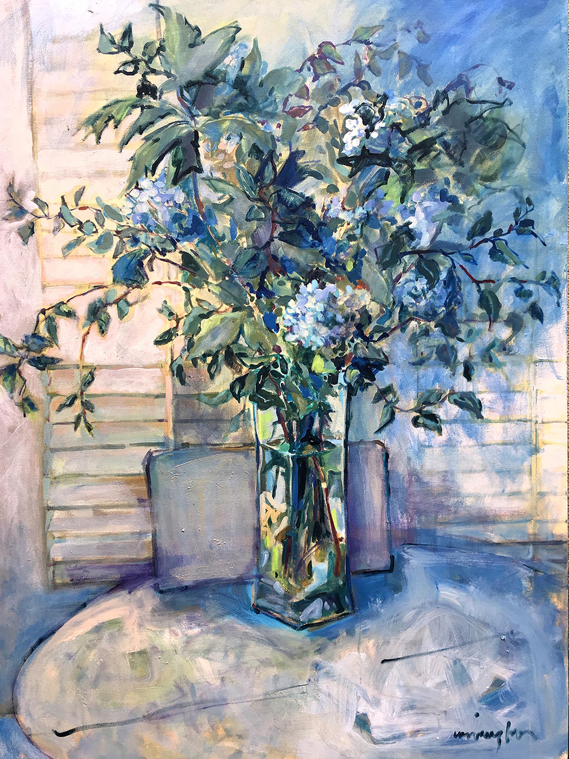 Rhapsody in Blue by Nan Cunningham