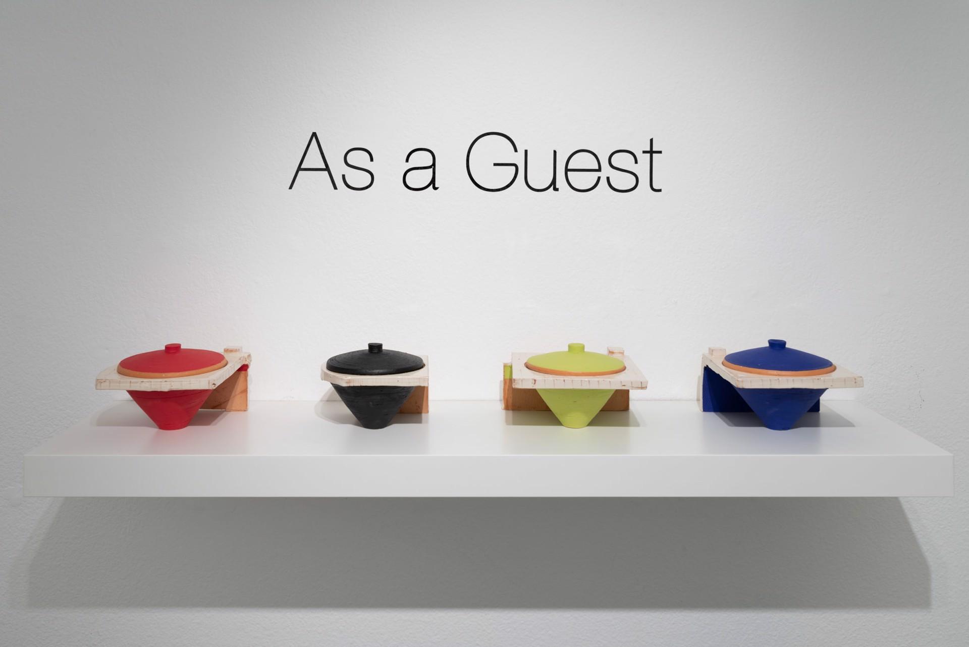 As A Guest; July 5 - 27 by Zak Helenske