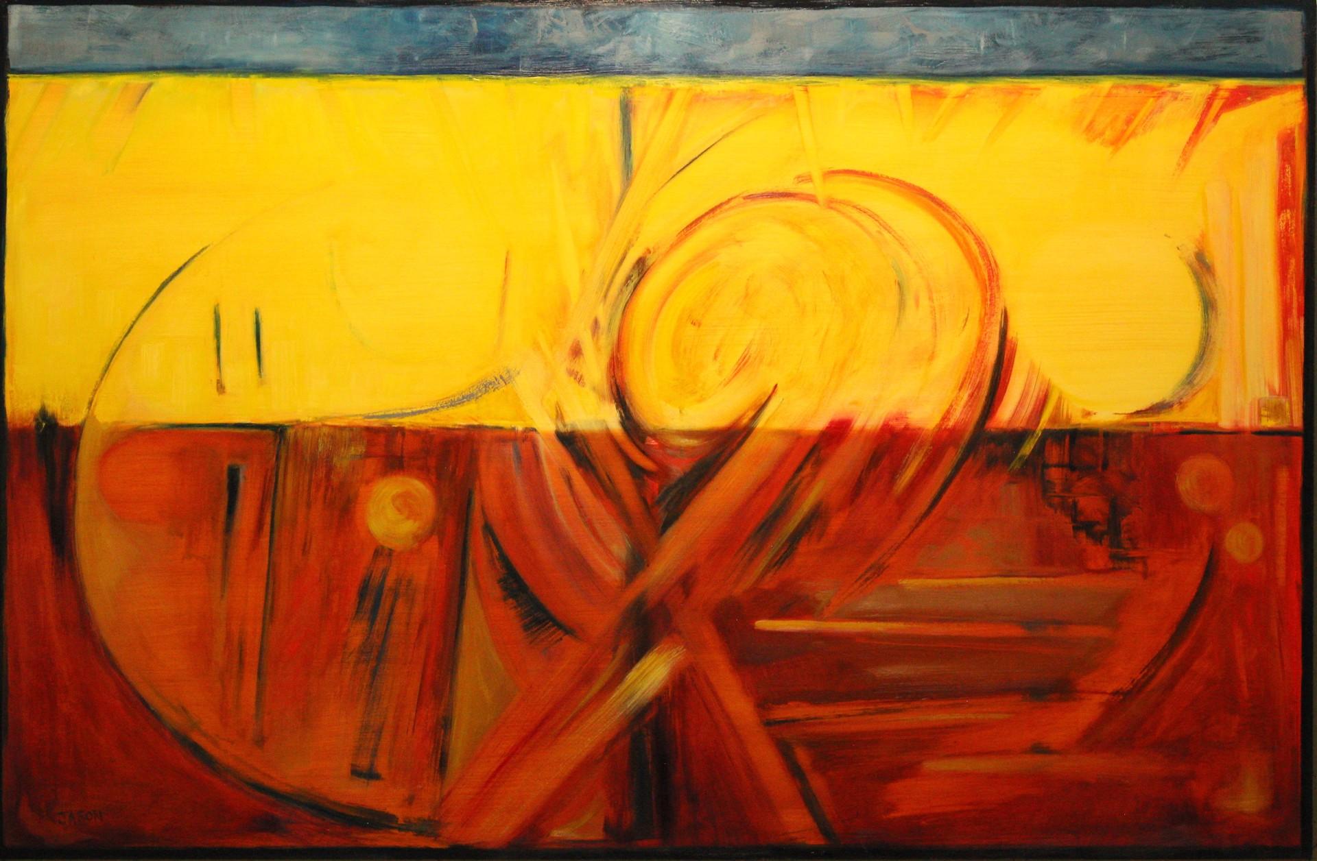 Circle Swirl Swirl by Jason Berrier (Newberg, OR)