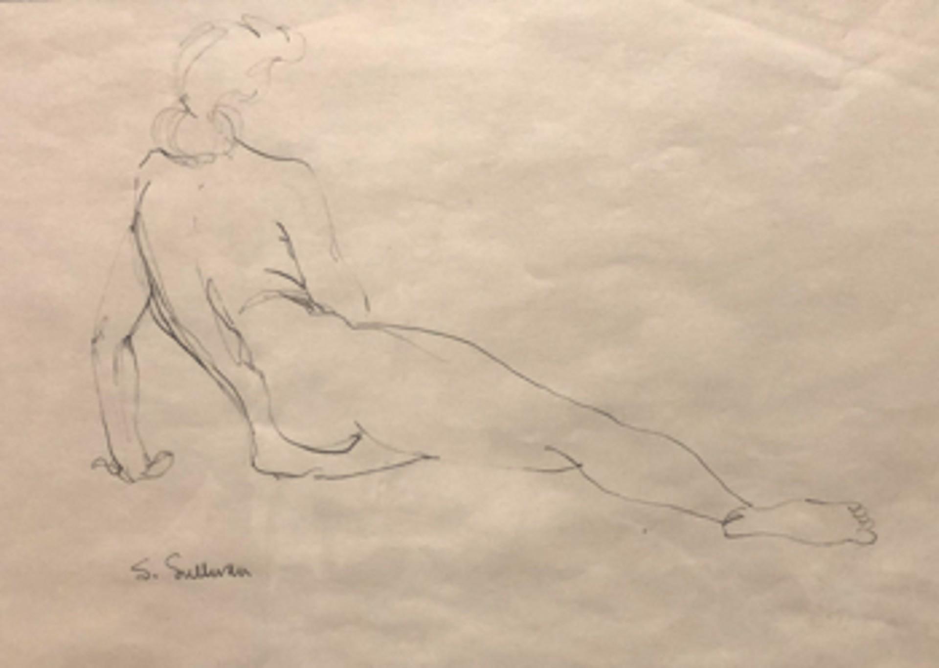 Nude Sketch 3 by Stella Sullivan