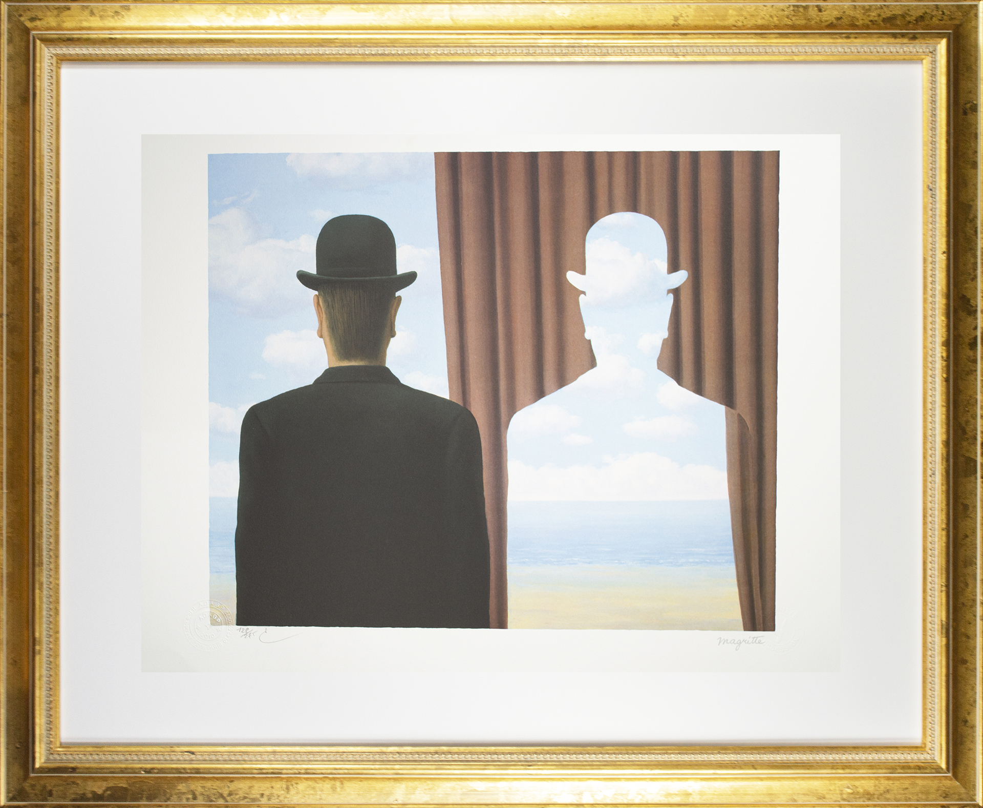 Décalcomanie (Decalcomania) by Rene Magritte