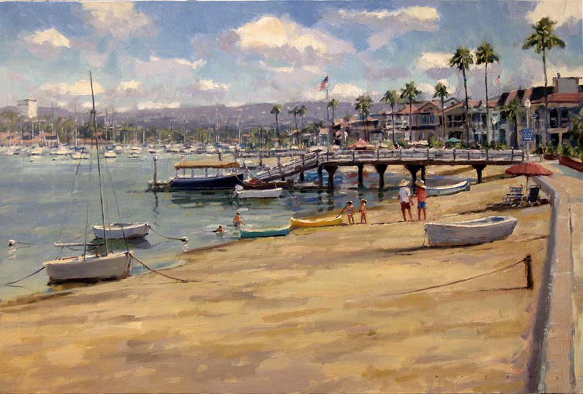 Balboa Island Paradise by Ronaldo Macedo