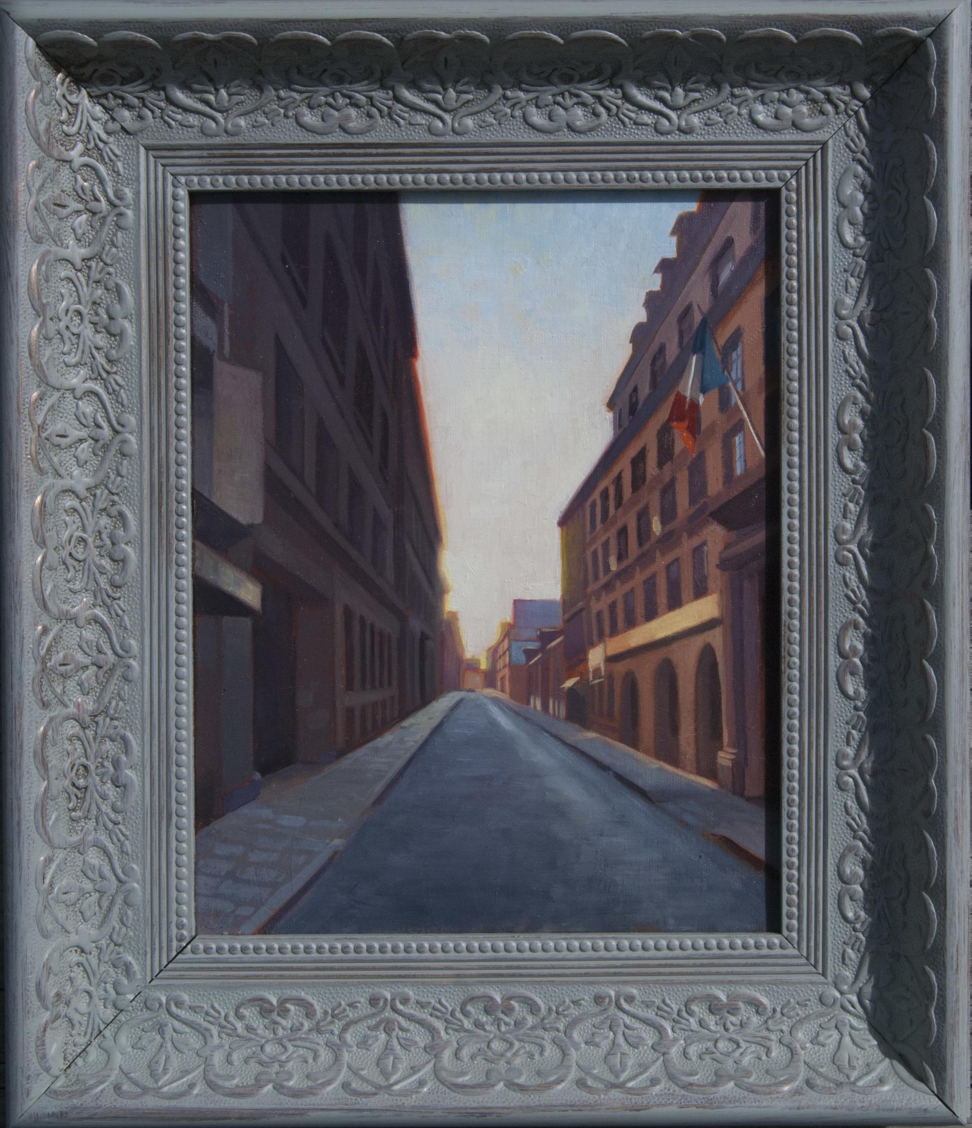 Paris Street 1 by Richard T Scott