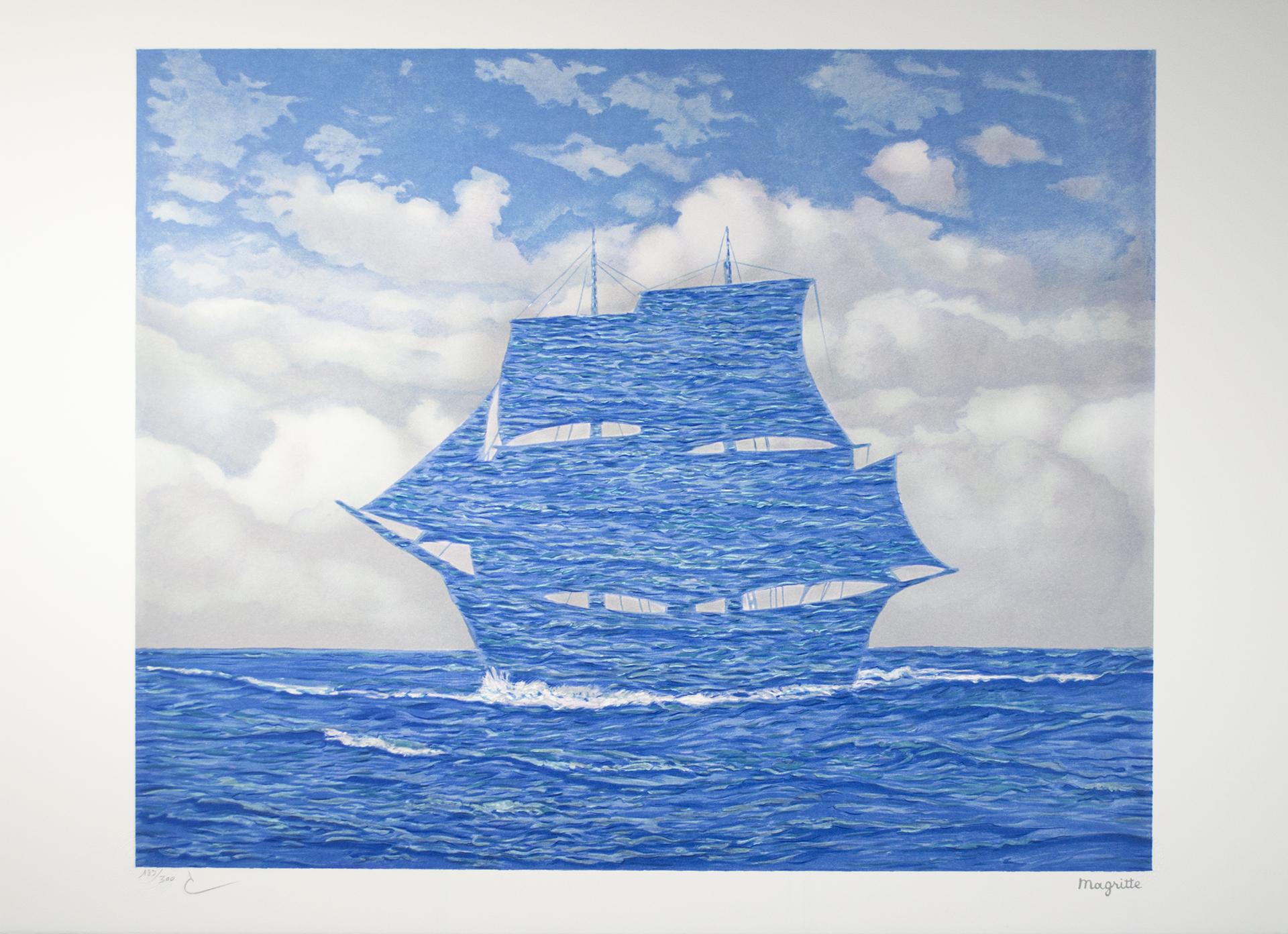 Le Séducteur (The Seducer) by Rene Magritte