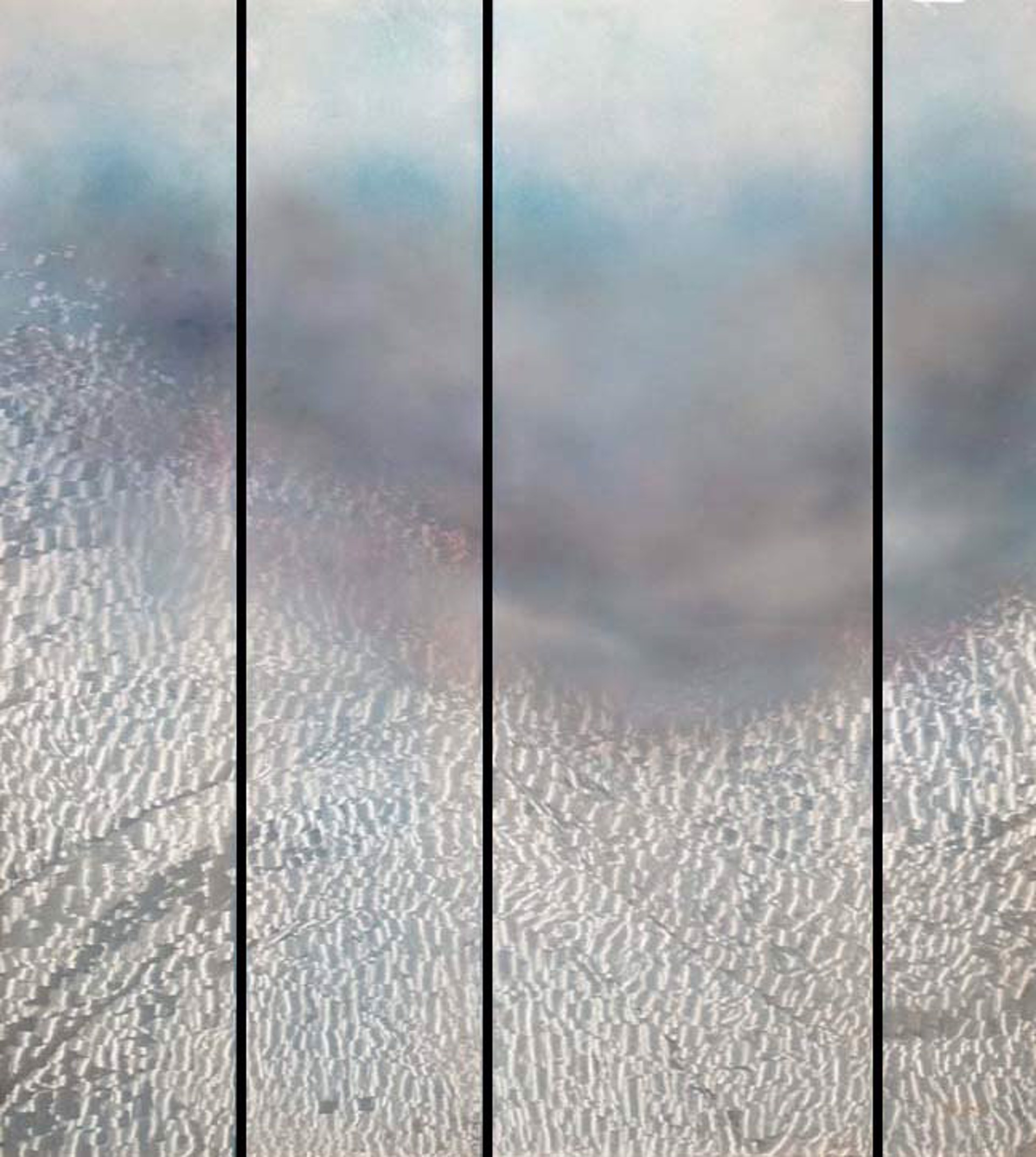 Raging Seas (4 Panel) - O by Lori Wylie